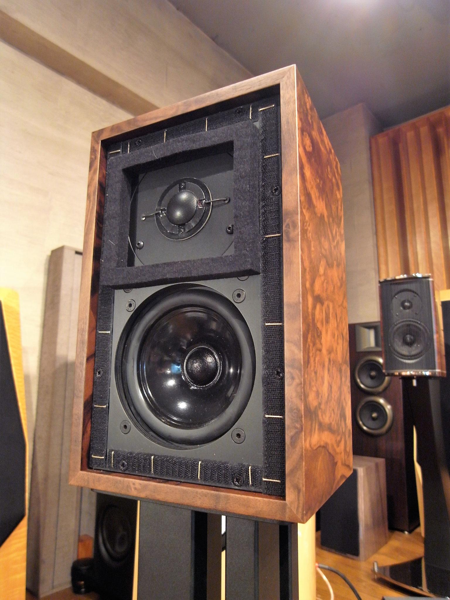 Falcon Acoustics LS3/5a Burr Walnut