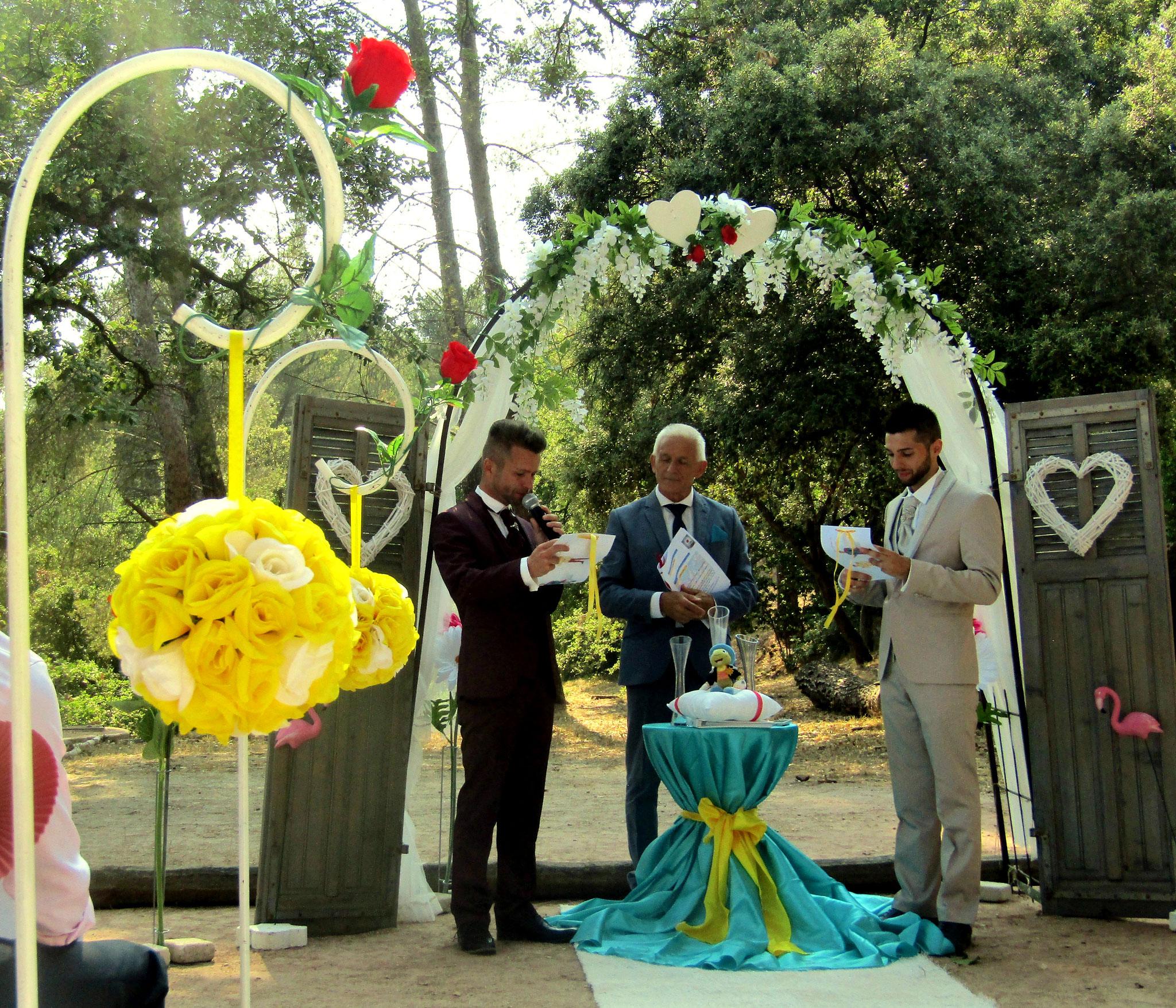 organisation mariage domaine des gueules cassées à la Valette ( var 83)