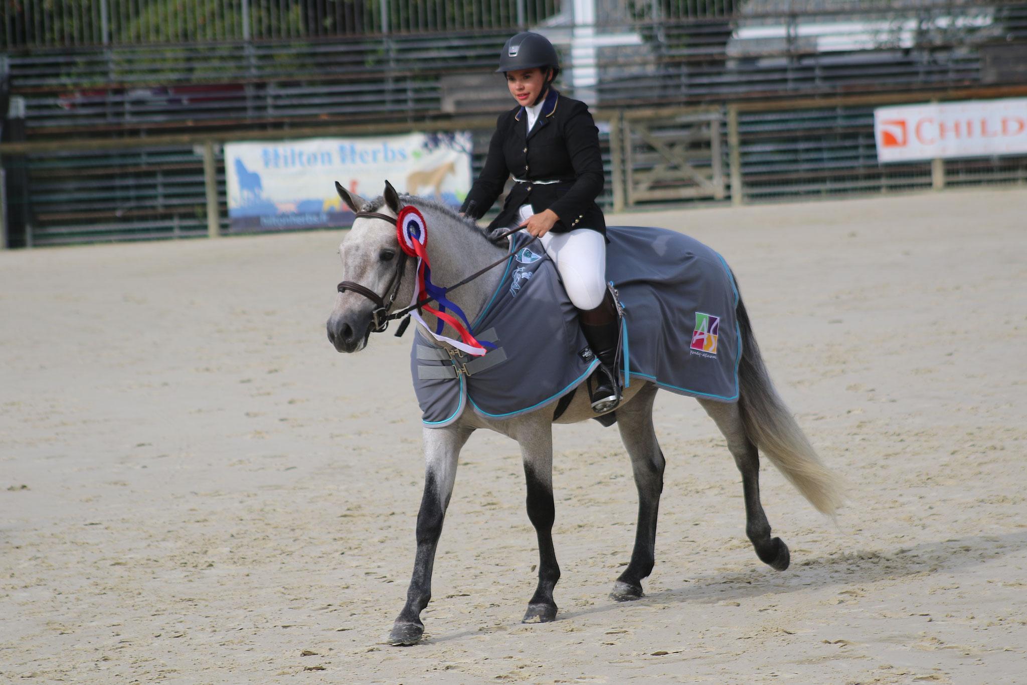 Fursy de Lamélie, champion suprême des 3 ans montés CO