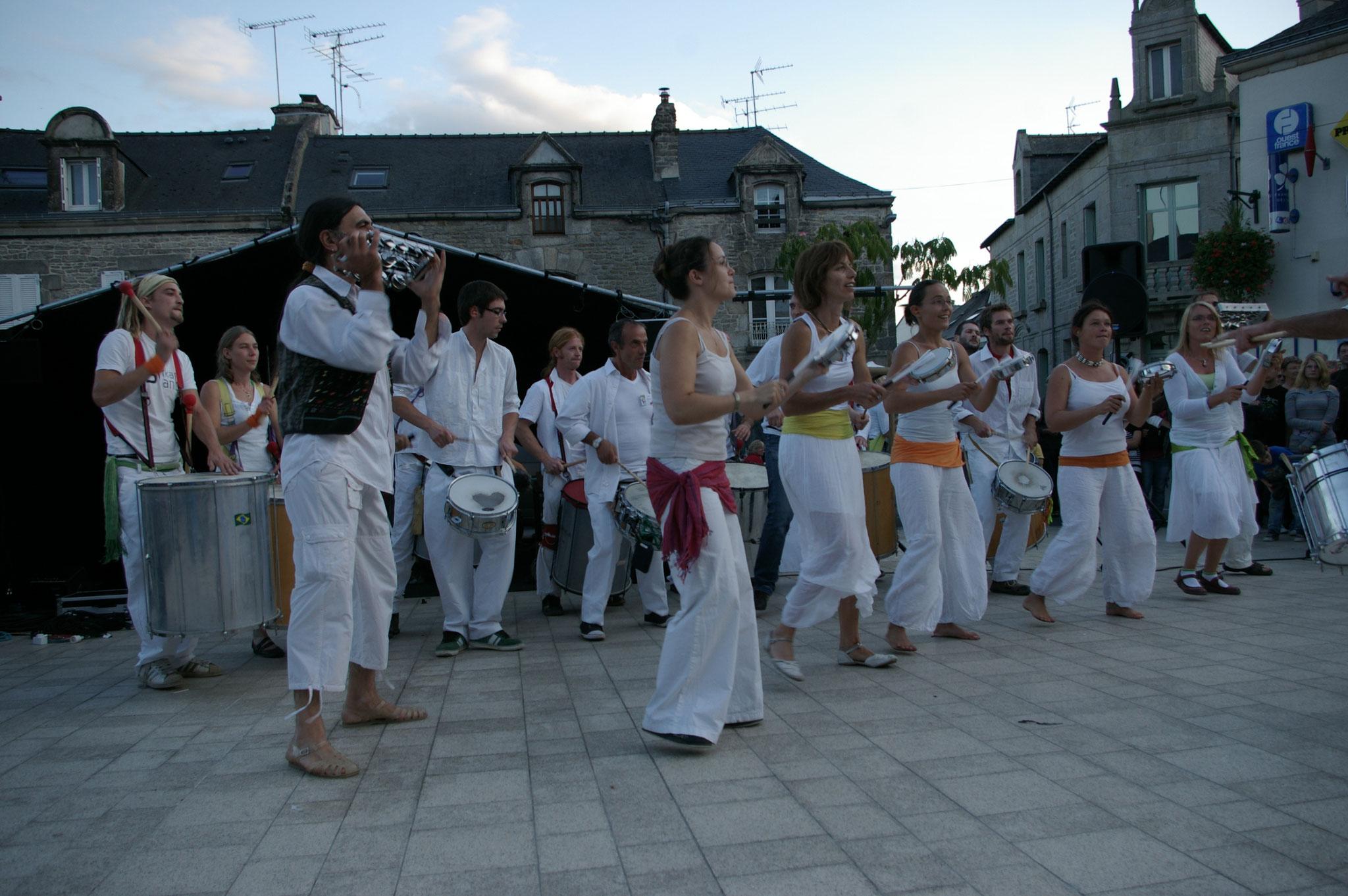 Fete de la musique, Questembert, 2009