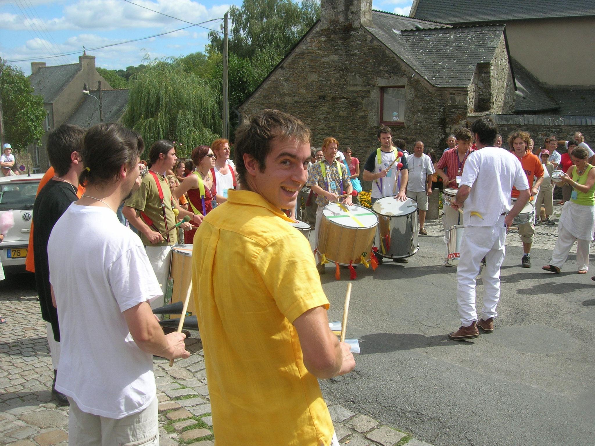 Au festival des Loustiks de l'Akoustik, Rochefort-en-Terre, 2007