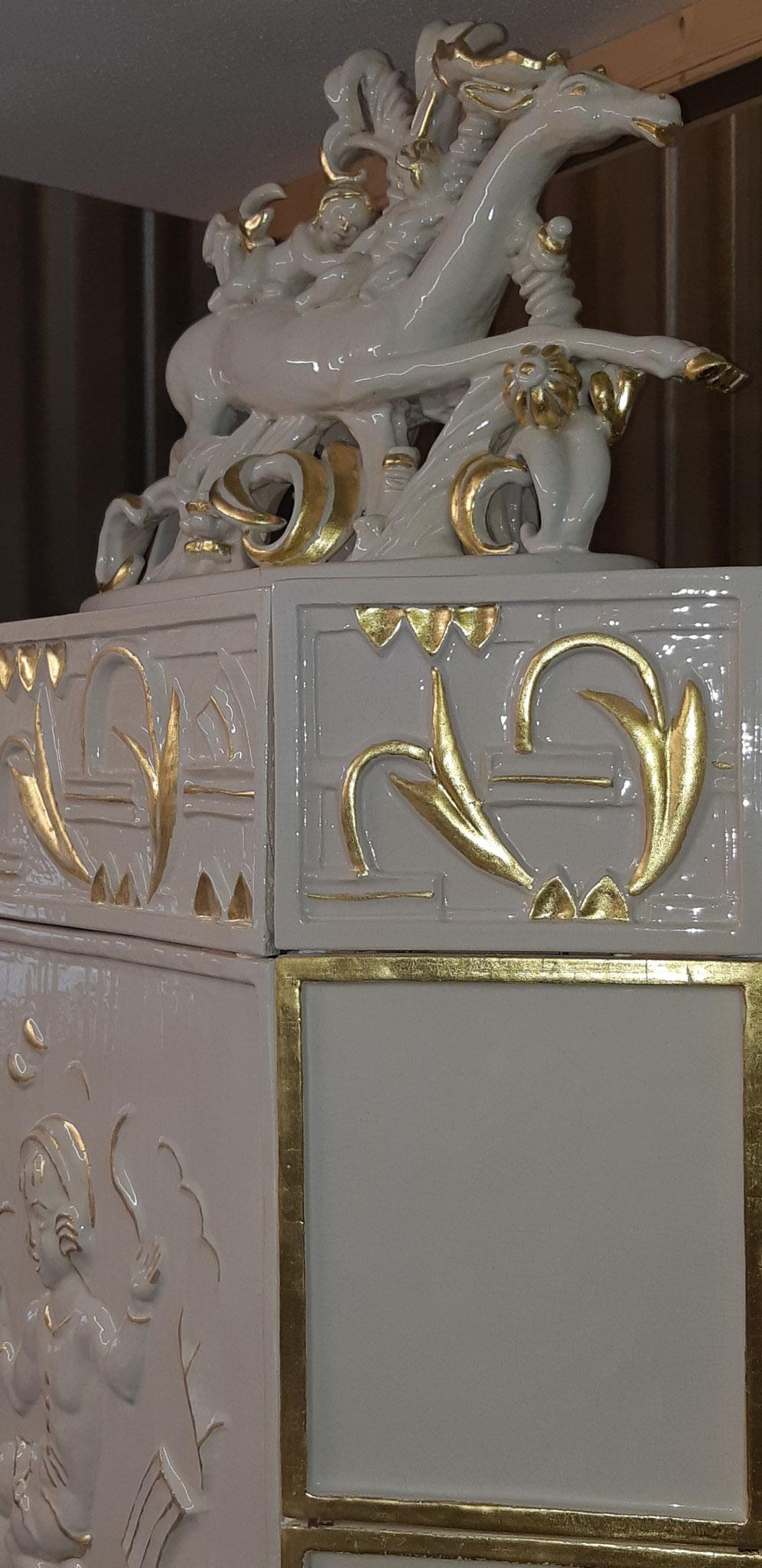 Hirschofen gold Detail
