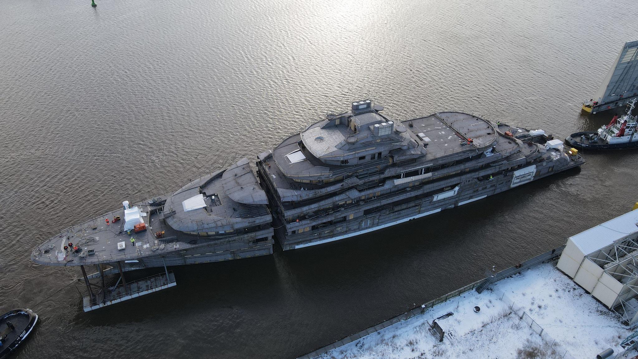 Brand new Yachts hulls