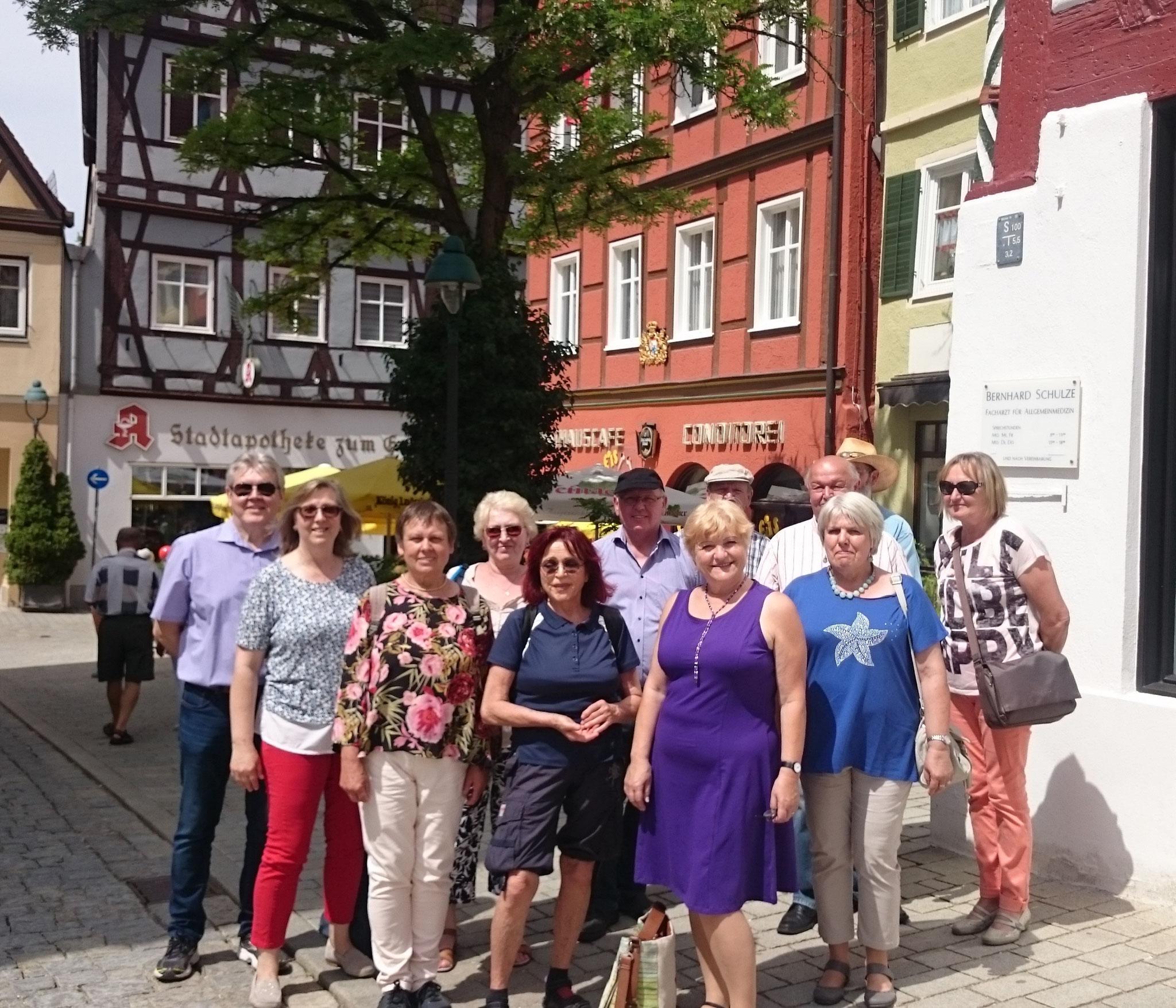 Stadtführung in Nördlingen