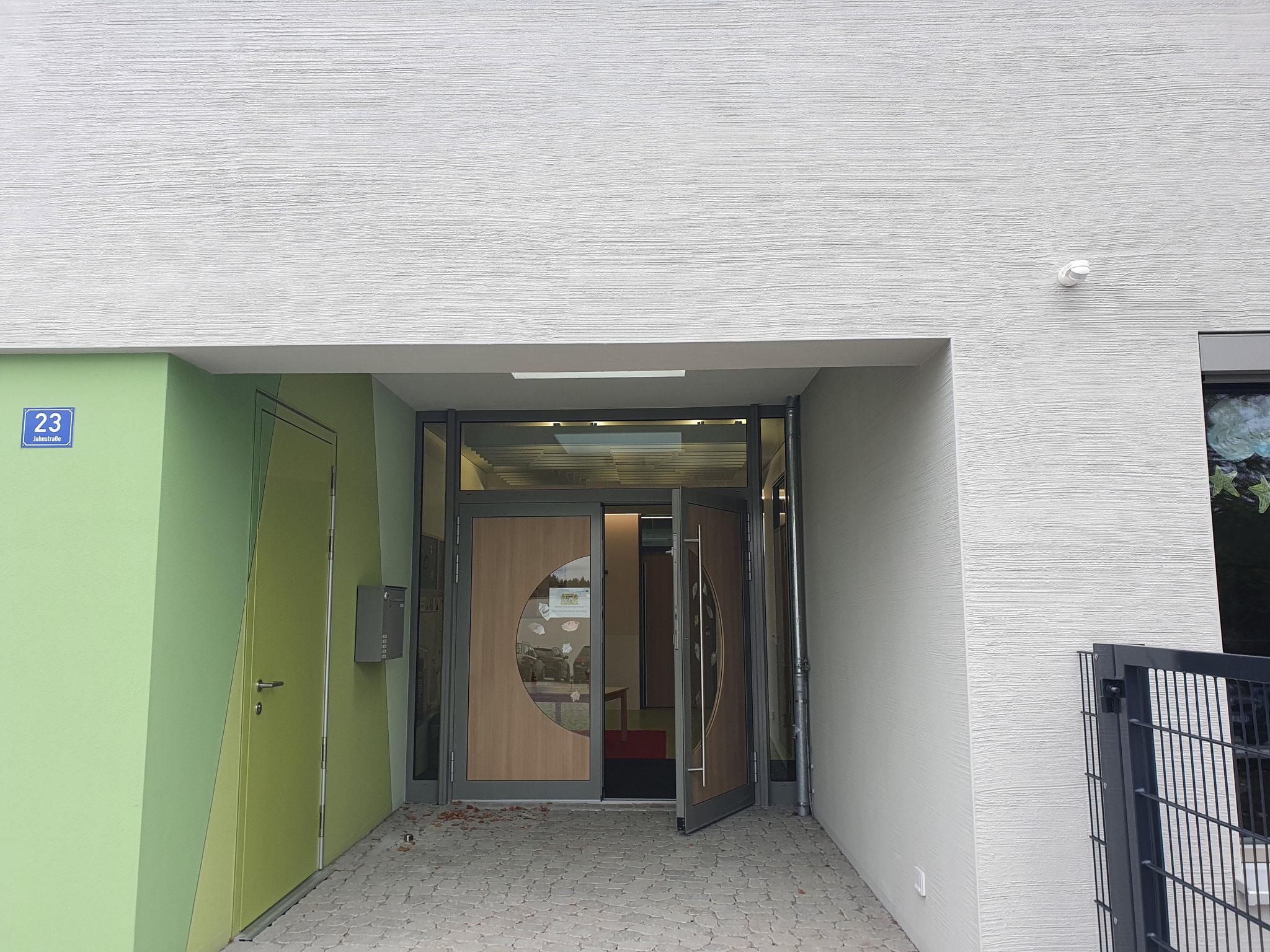 Baustelle in Parsberg, Putzarbeiten und Farbgestaltung 2020