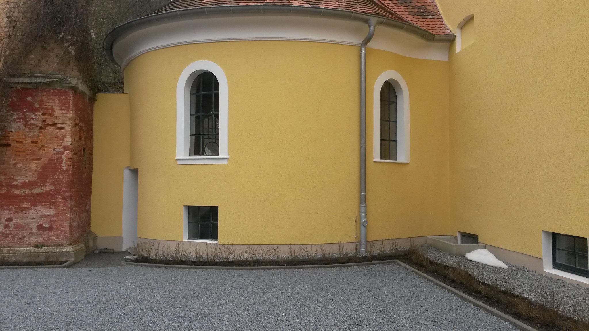 Ehem. Schlossbrauerei Etterzhausen, Fassadenarbeiten 2014