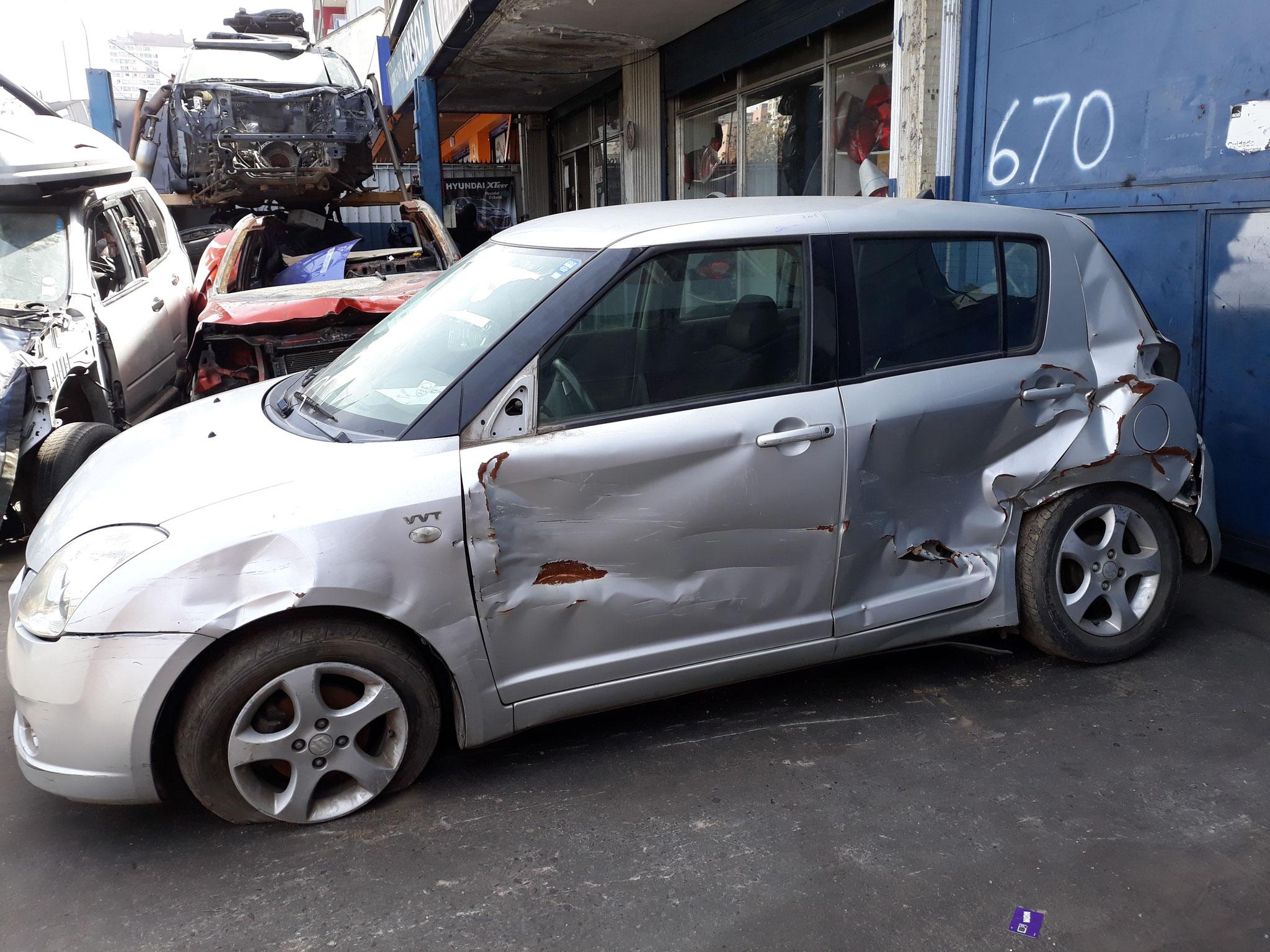 SUZUKI SWIFT AÑO 2006 1.5 EN DESARME