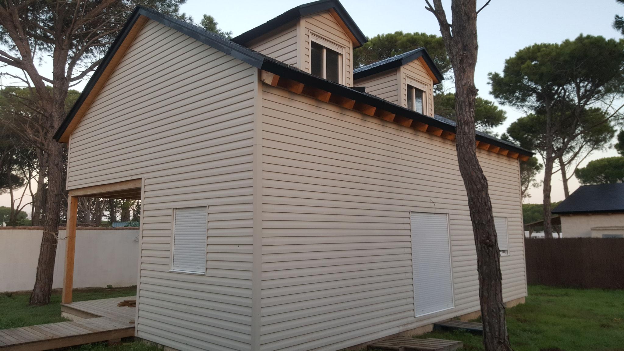 Chalet de 2 plantas 130 m2 + 12 m2 de porche. Precio llave en mano ...