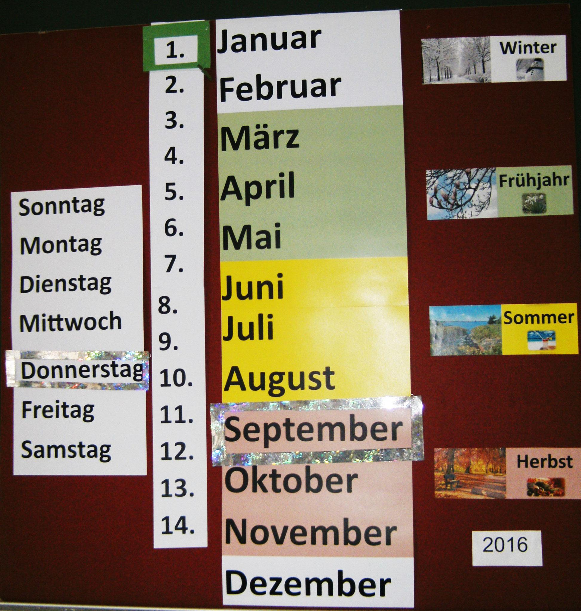 unser Kalender