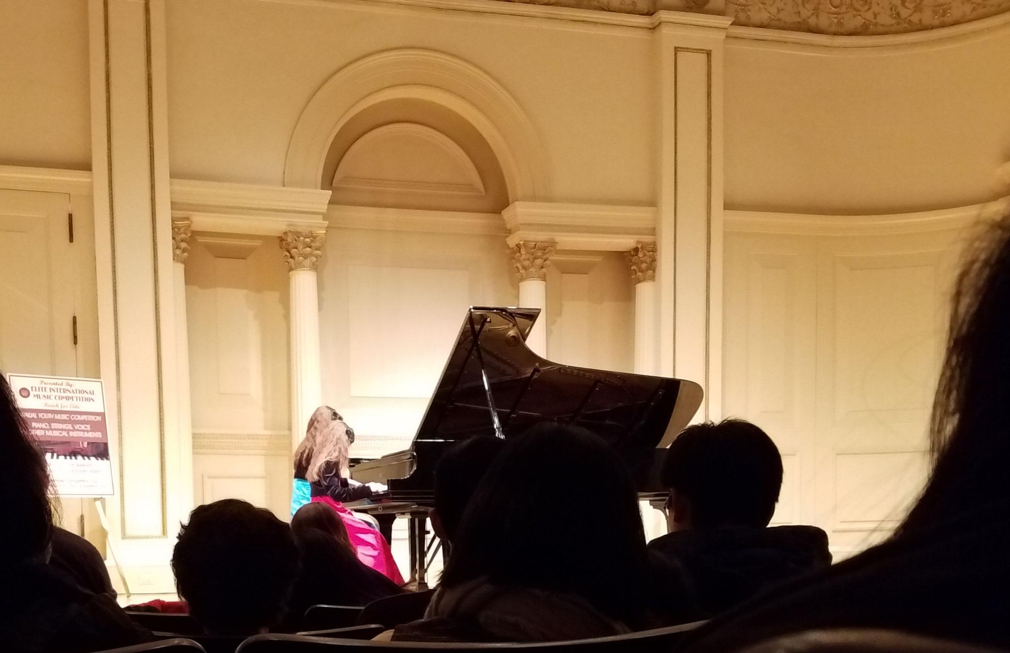 Carnegie Hall NEW YORK - USA, 2018