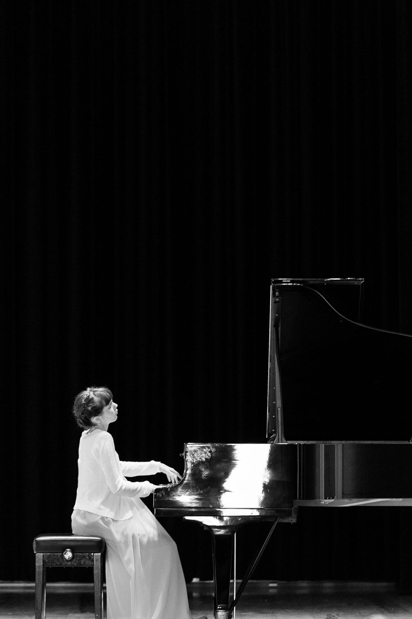 ANNA CATERINA BINDA WON 1st PRIZE AT THE YOUNG LIVORNO PIANO COMPETITION - PREMIO ENRICO GALLETTA!