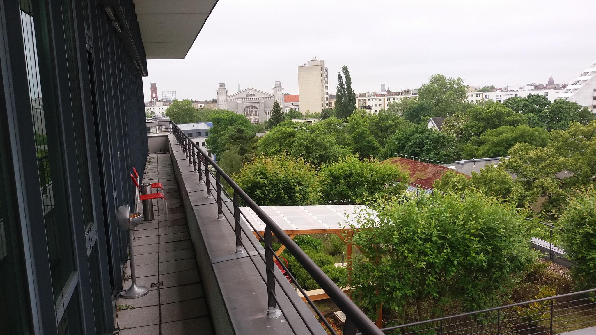 Aussicht auf den Nollendorfplatz