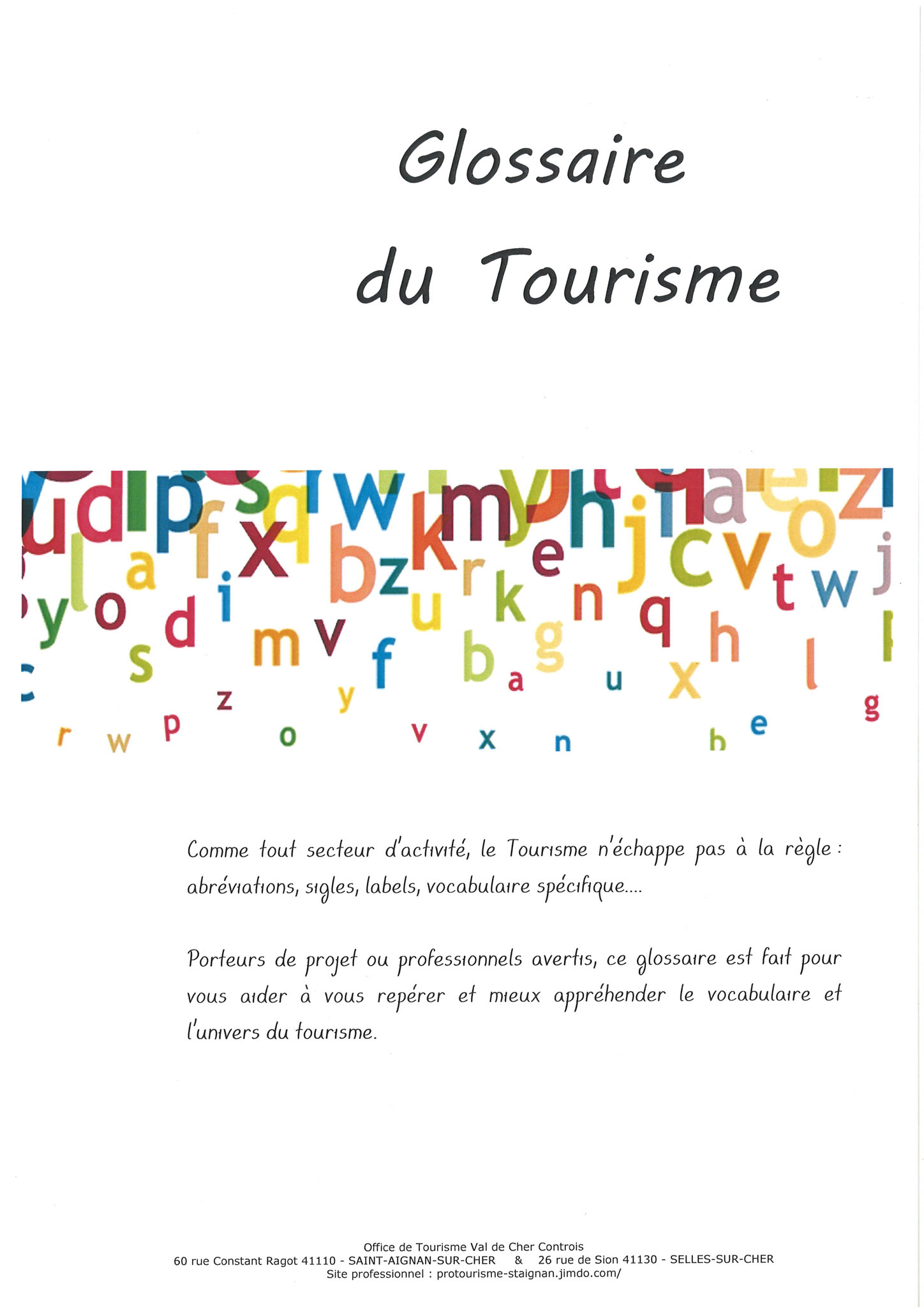 office de tourisme 41110