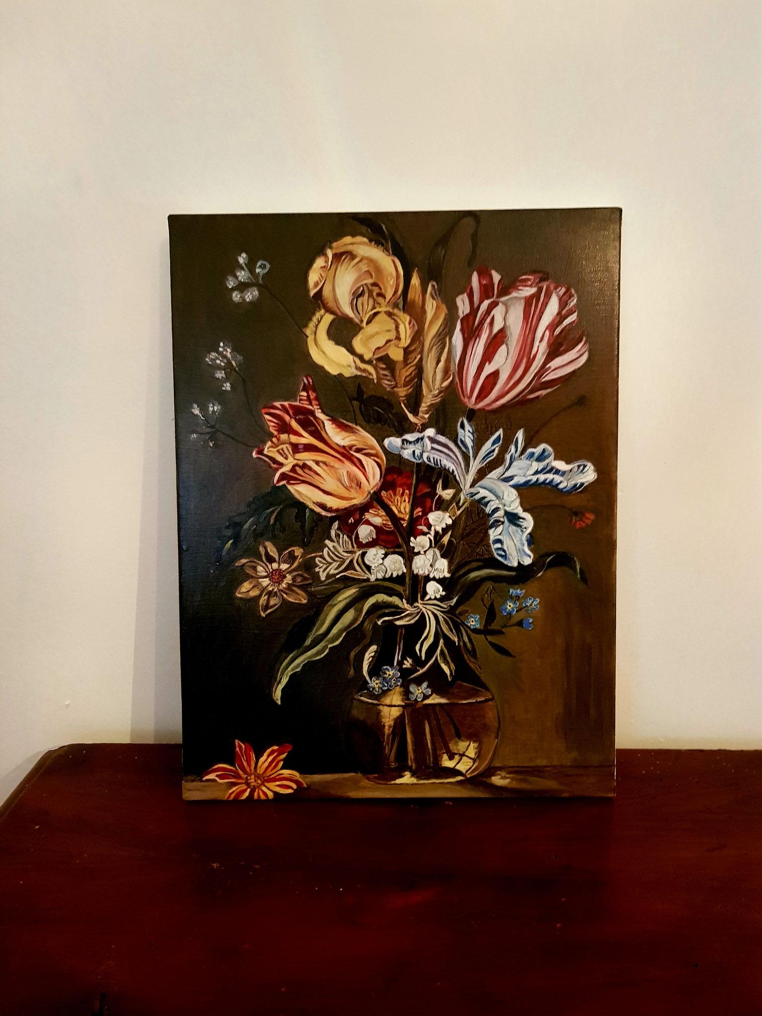 pittura a olio tecnica fiamminga