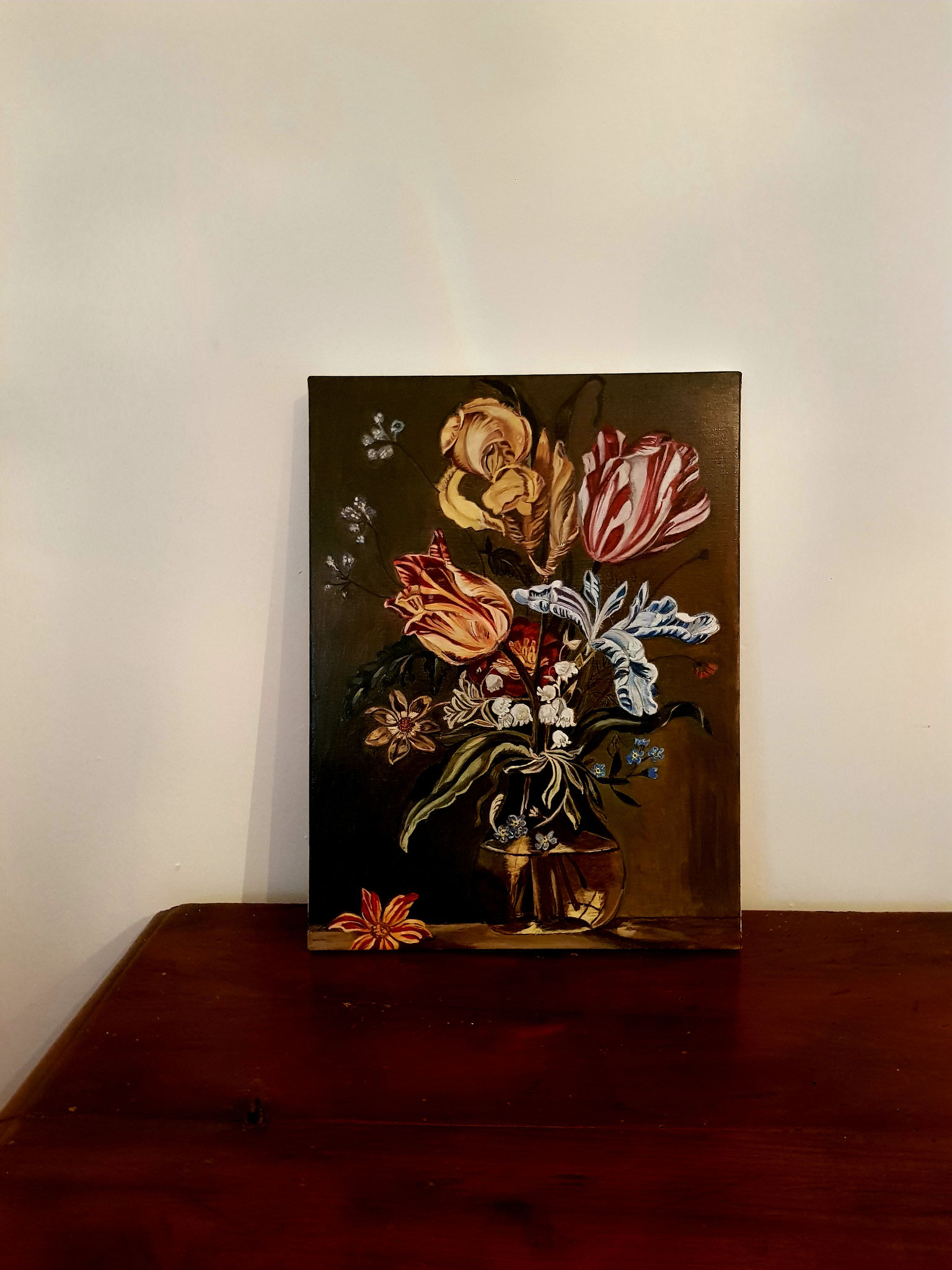 pittura olio quadro tecnica fiamminga