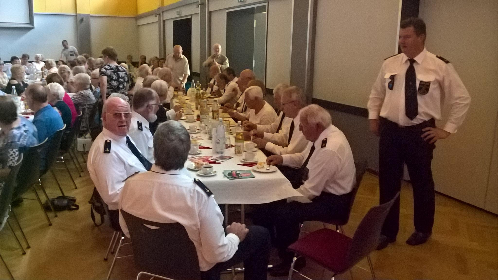 Tisch des Shanty-Chor Romantik Sailors Iserlohn