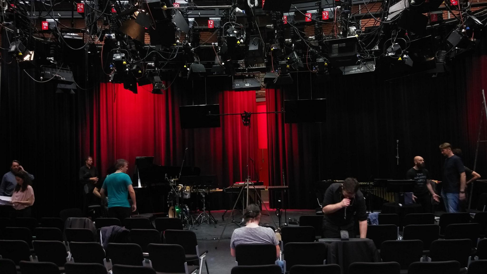 ORF Tirol, Studio 3, 2018, Generalprobe mit dem tenm Zeitimpuls