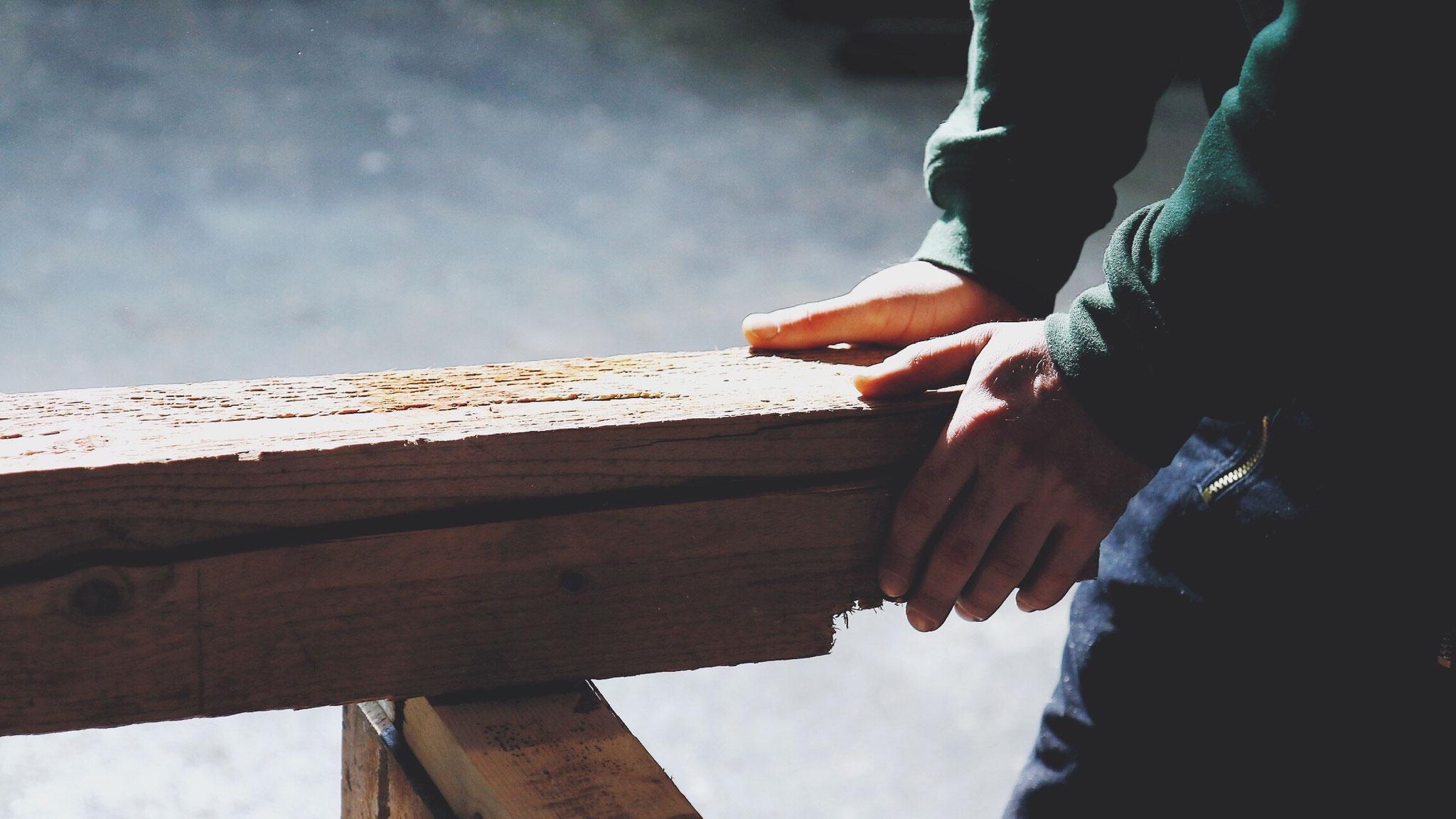 Unser Holzblog.