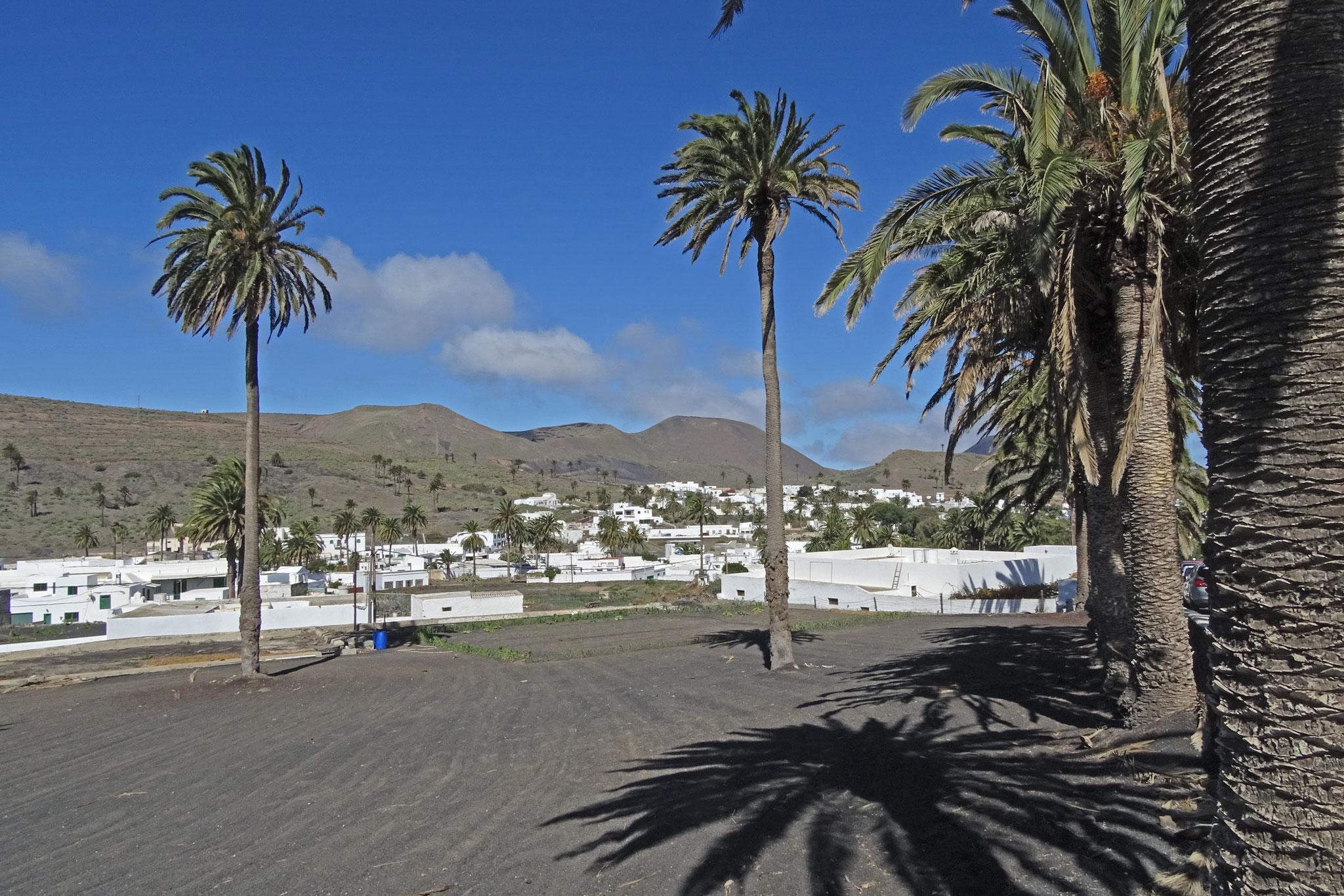Die nördlichste Stadt Haria erinnert irgendwie an Marokko