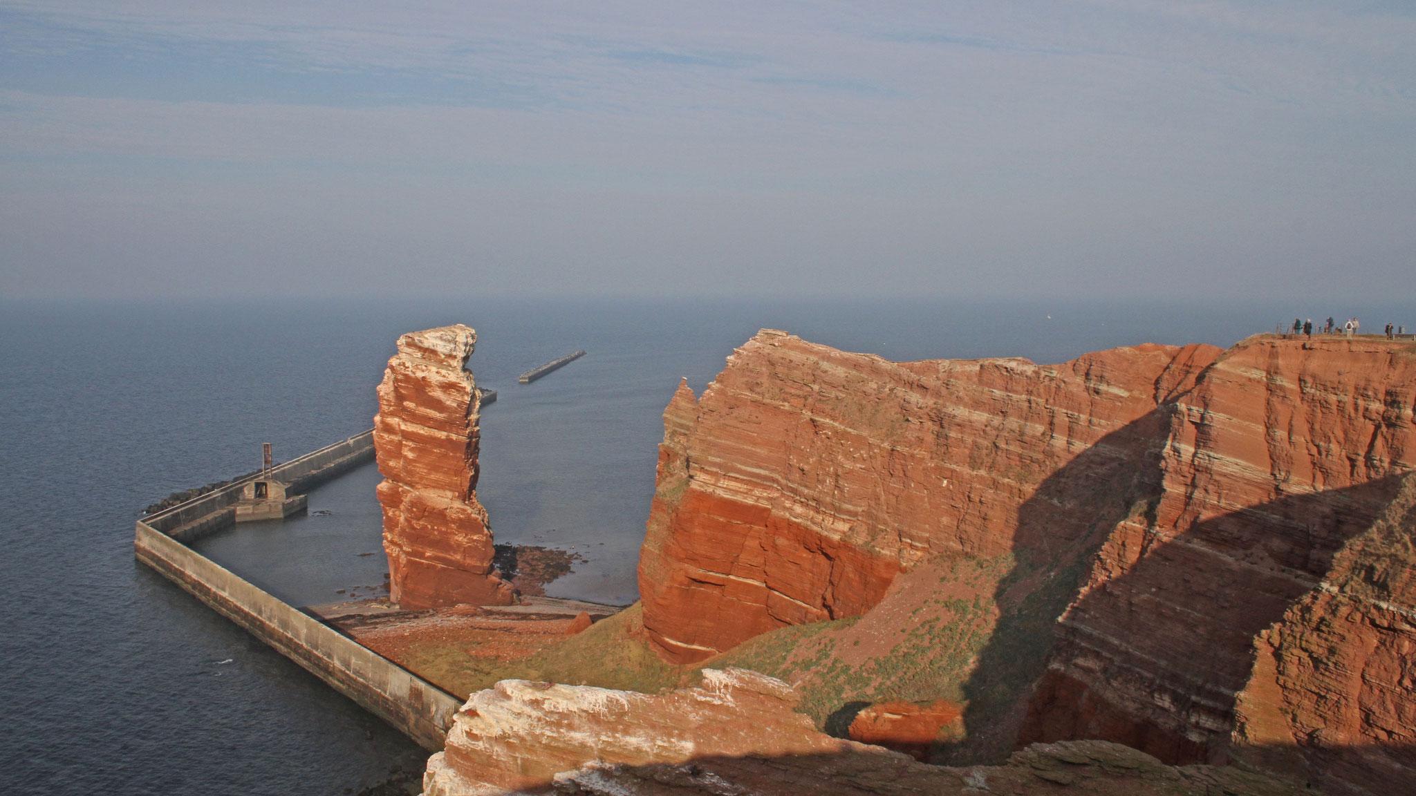 Da wir noch nichts gebucht hatten, konnten wir kurzfristig auf die Vogelinsel in der Nordsee ausweichen.