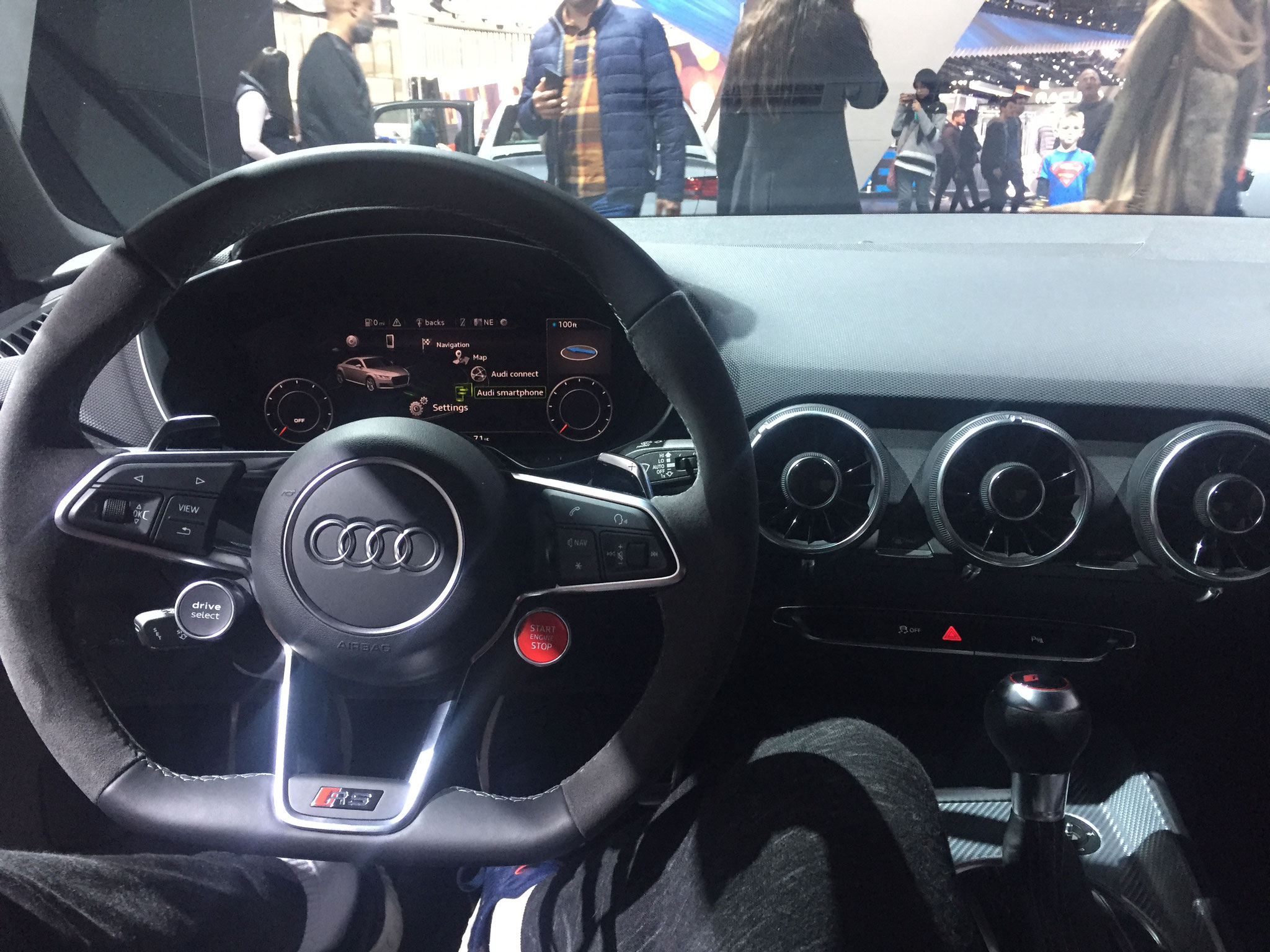 TT RS Interieur