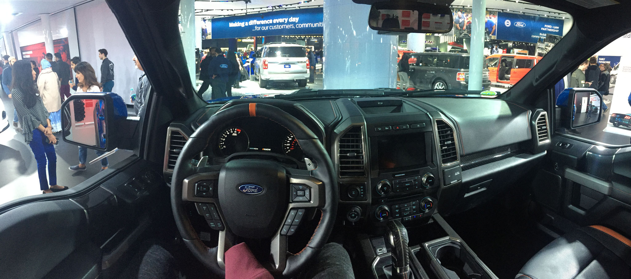 Ford Raptor Interieur