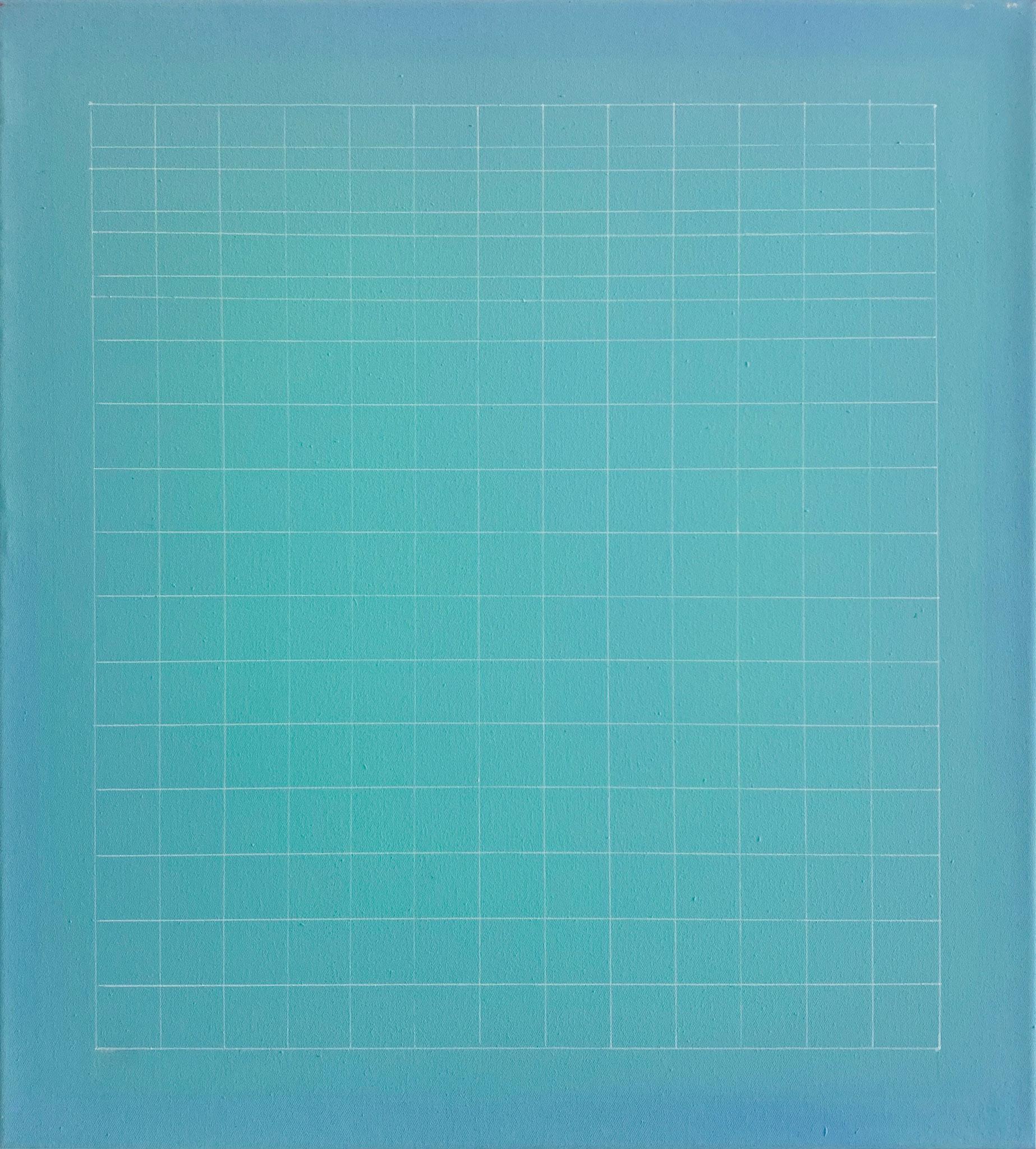 Daniel Hörner, O.T., Öl auf Leinwand 45 X 45 cm 2014