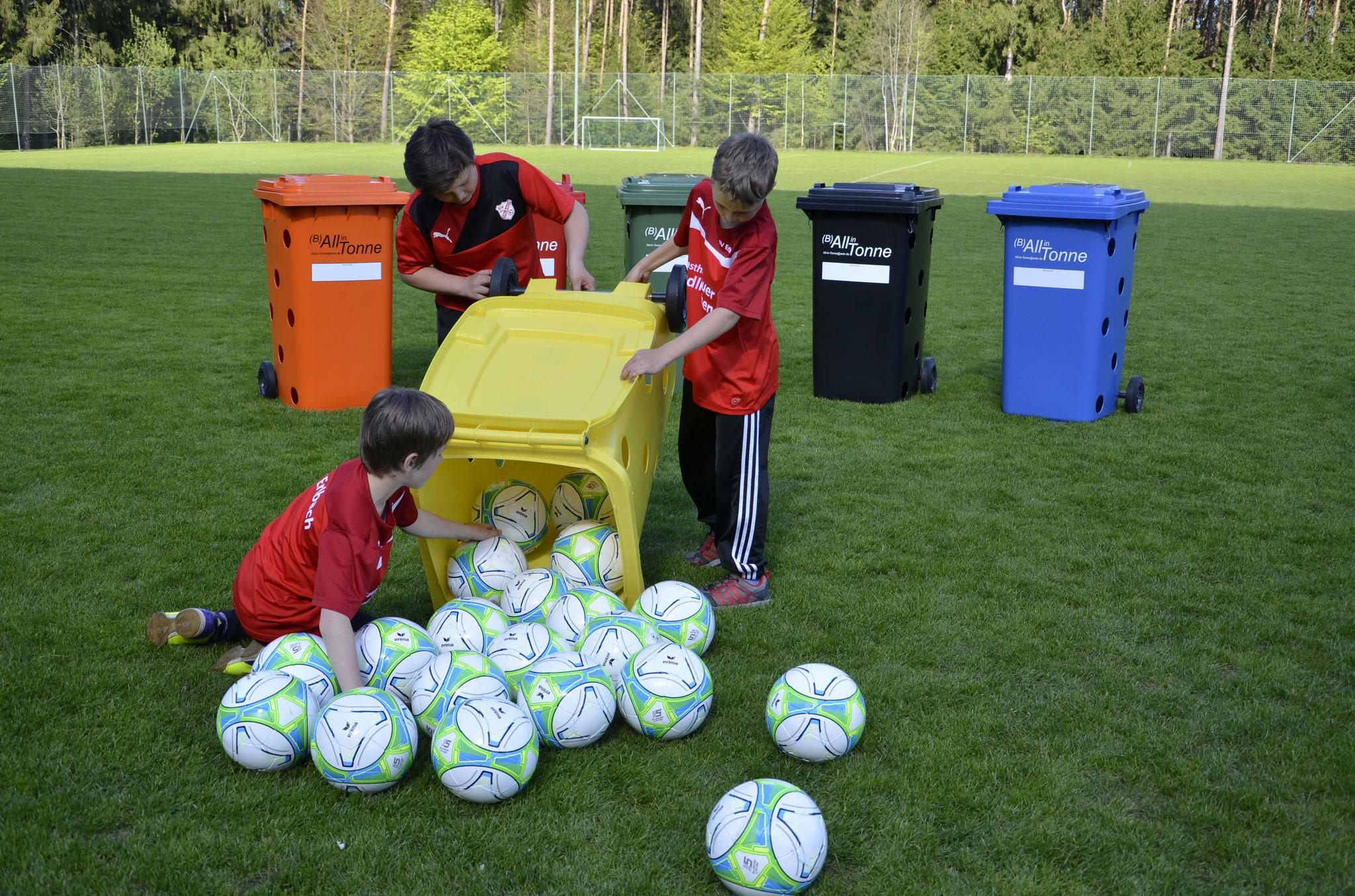 Ballnetz, Trainingsartikel, Fußballbox