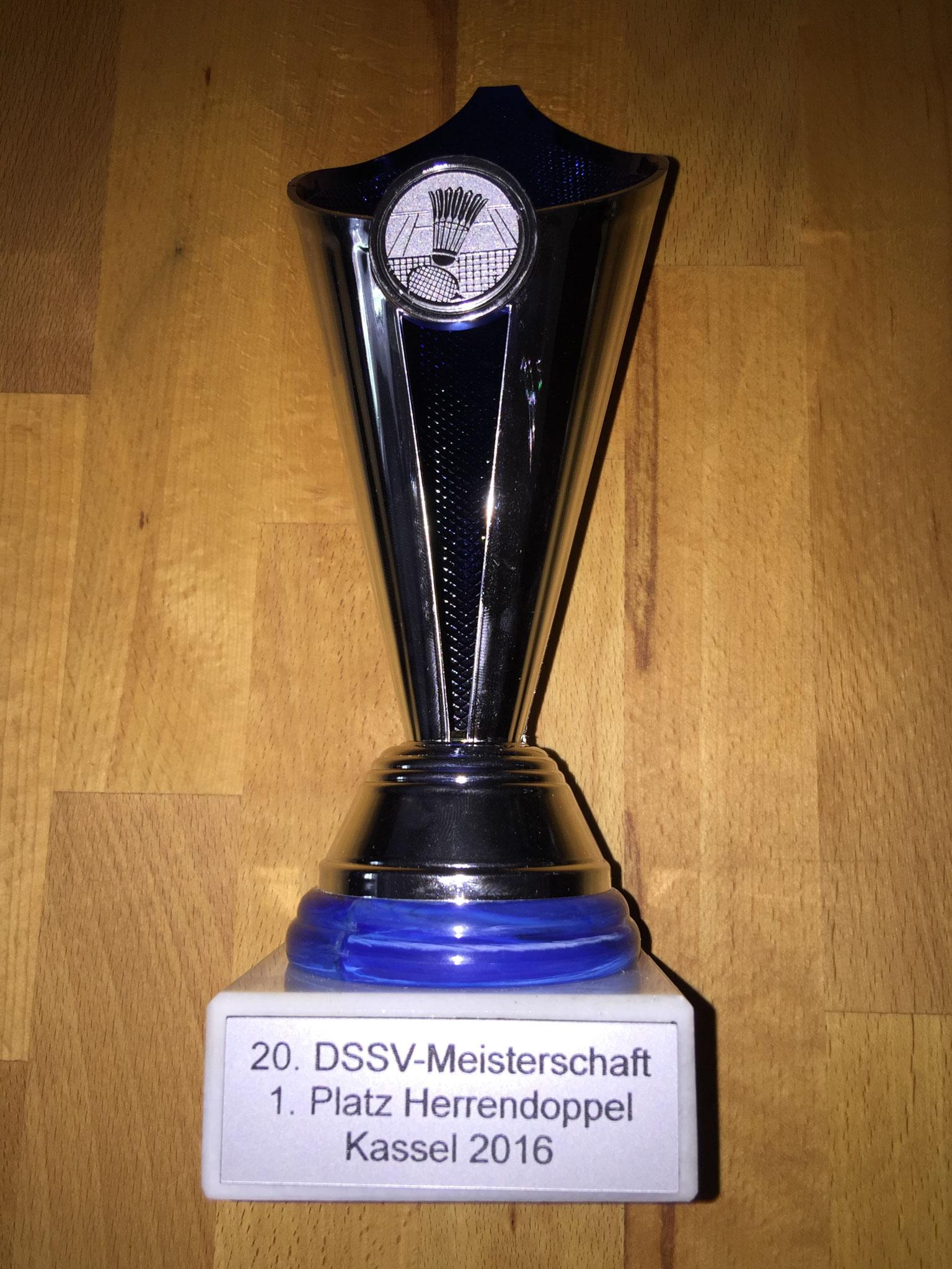 Pokal Herrendoppel 1. Platz