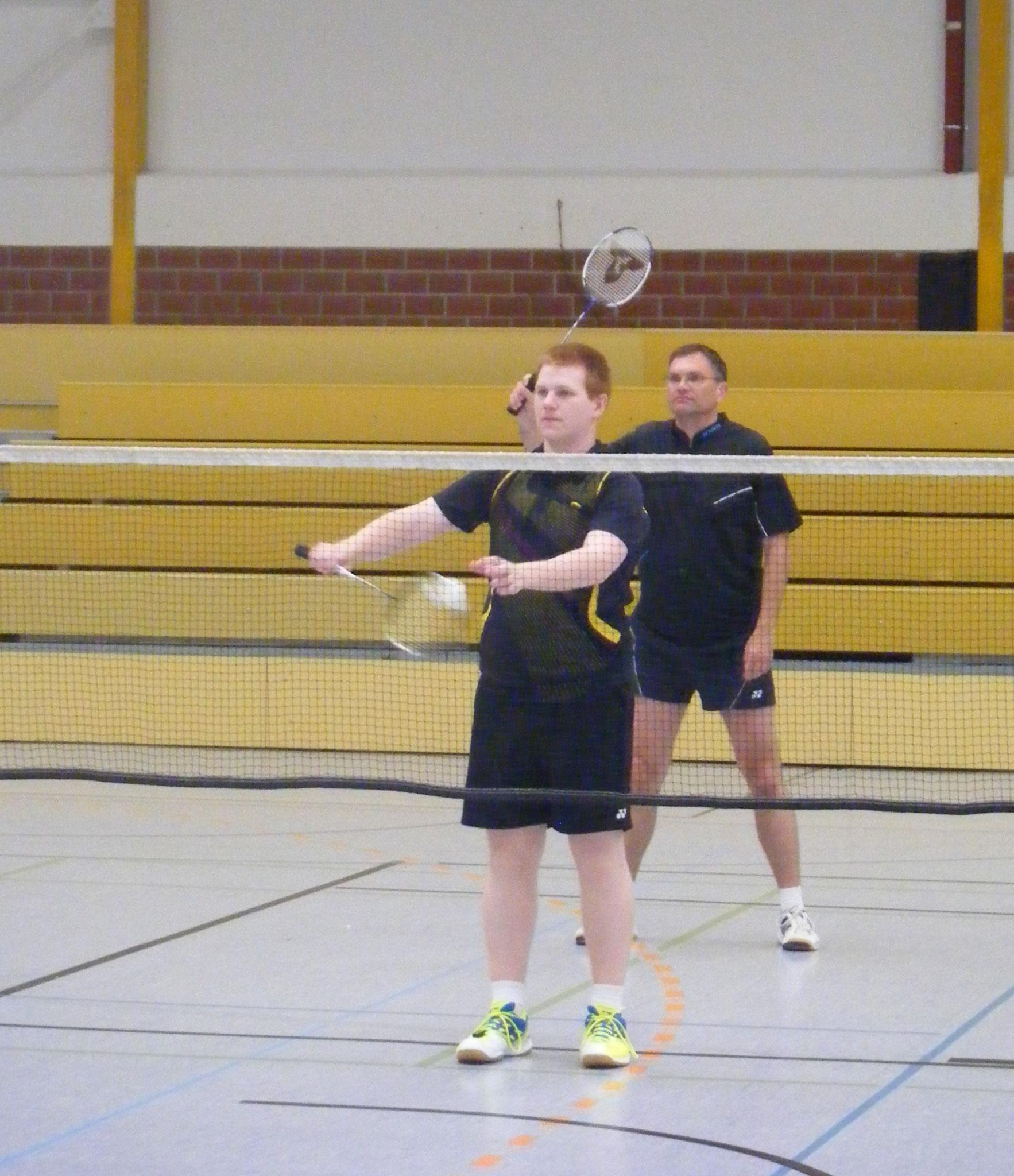 Matthias (vorne) und Reinhard