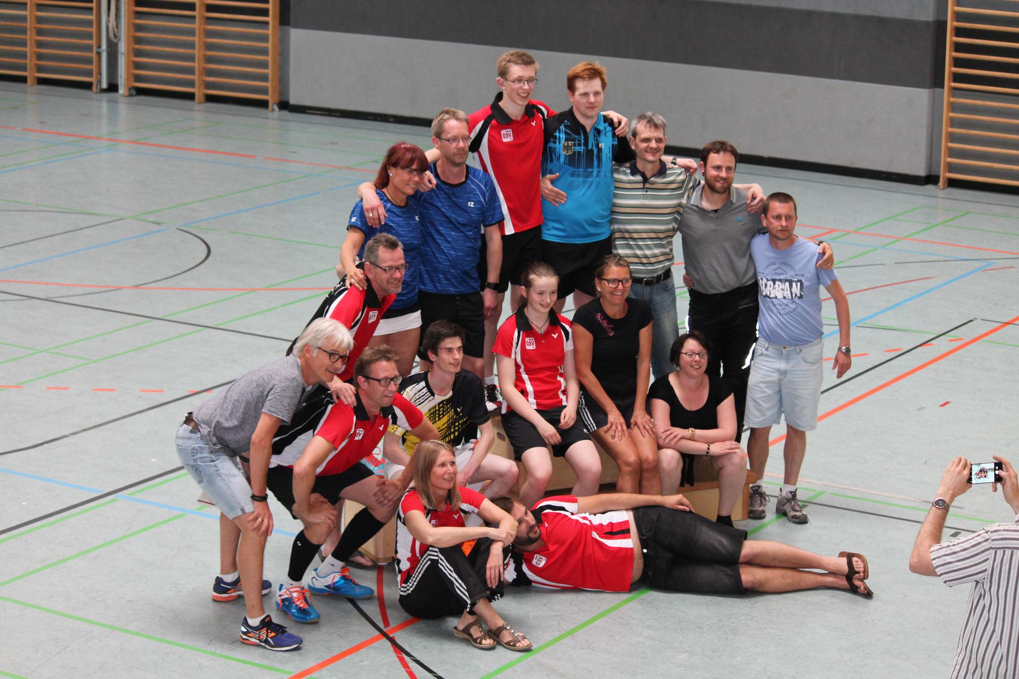 Gruppenbild aller Teilnehmer der DM in Nürnberg