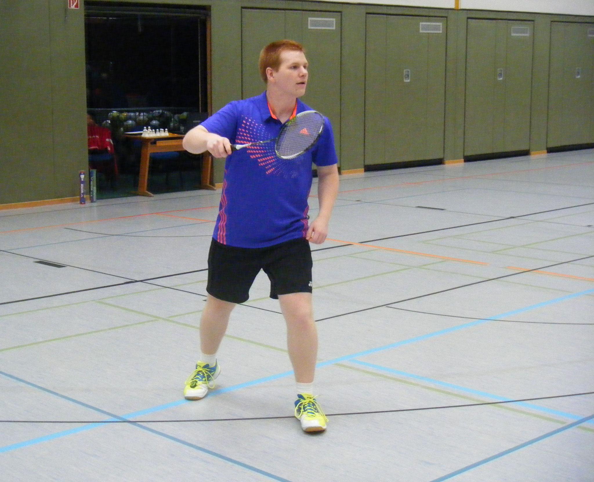 Matthias auf dem Feld