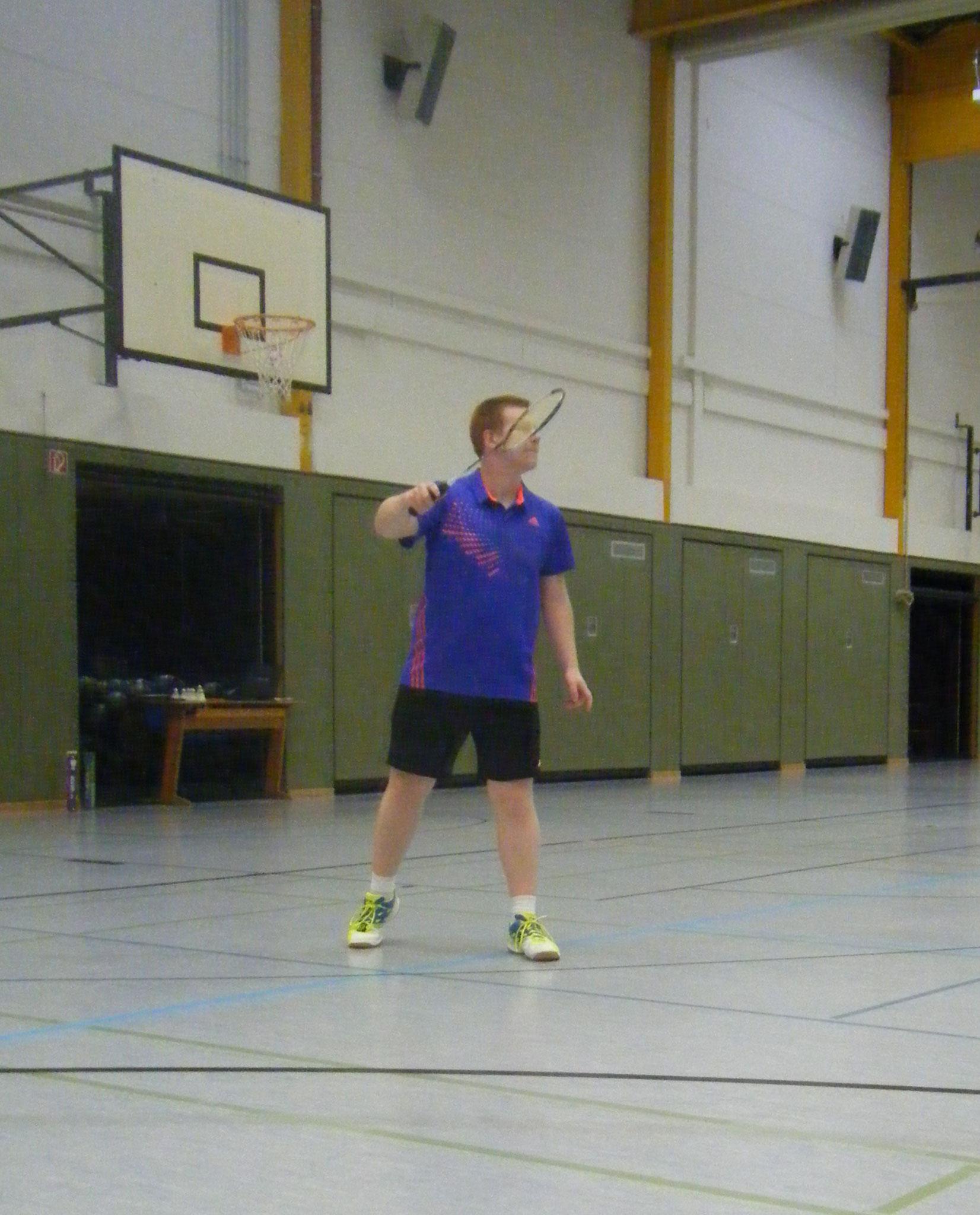 Matthias in Aktion