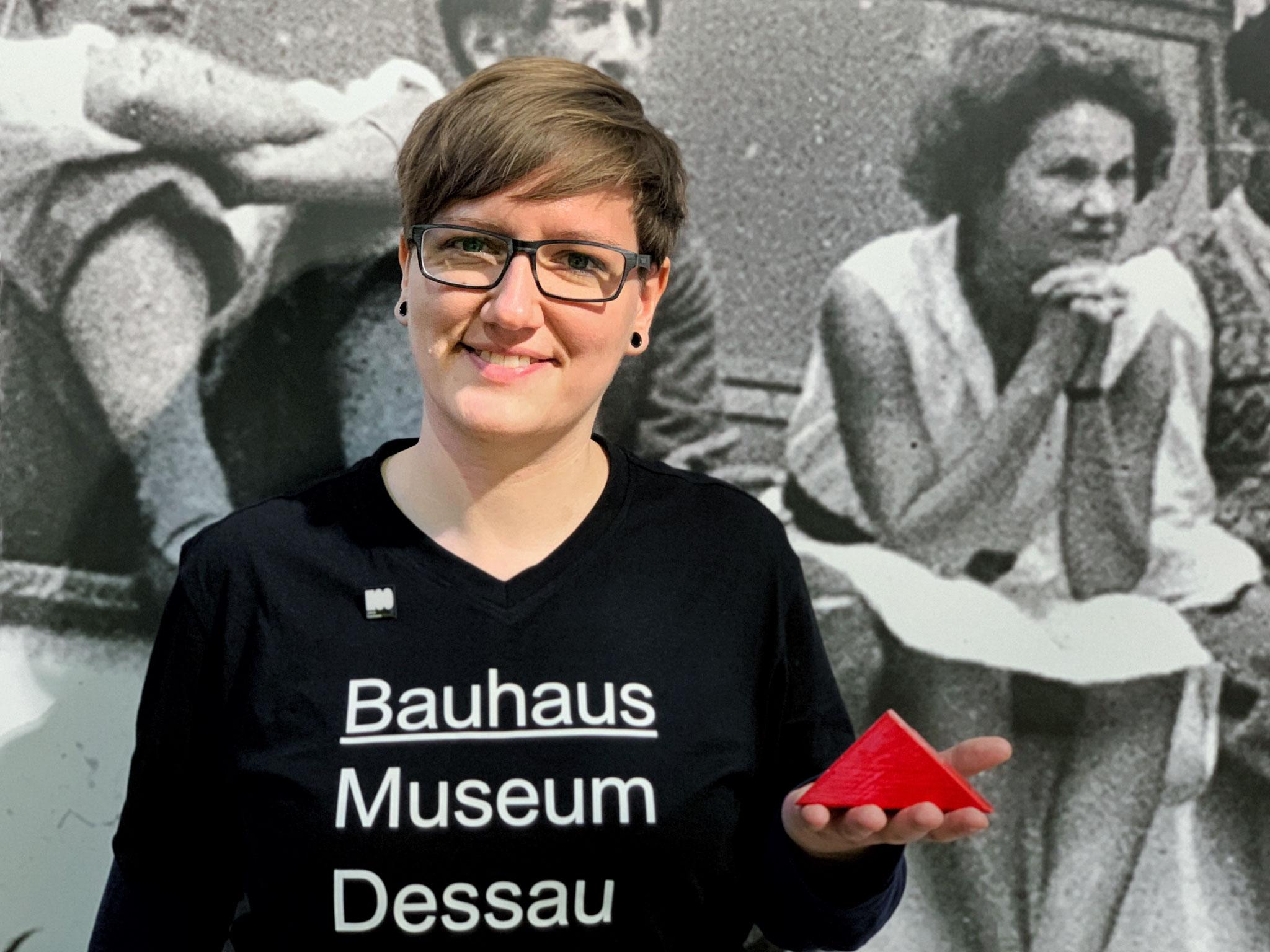 Ute König, Bauhaus Dessau