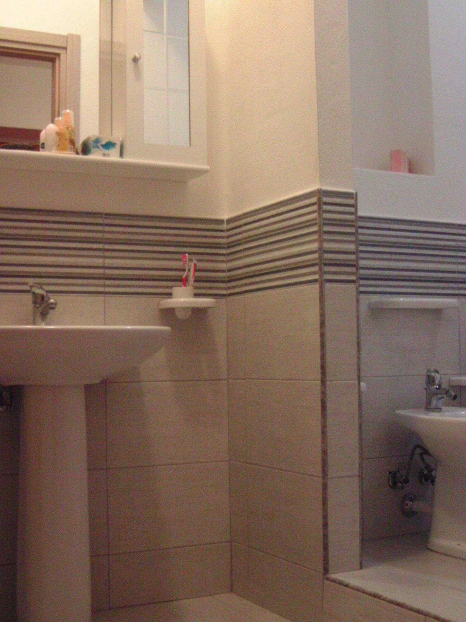 Jedes Appartement hat ein hübsches Bad.