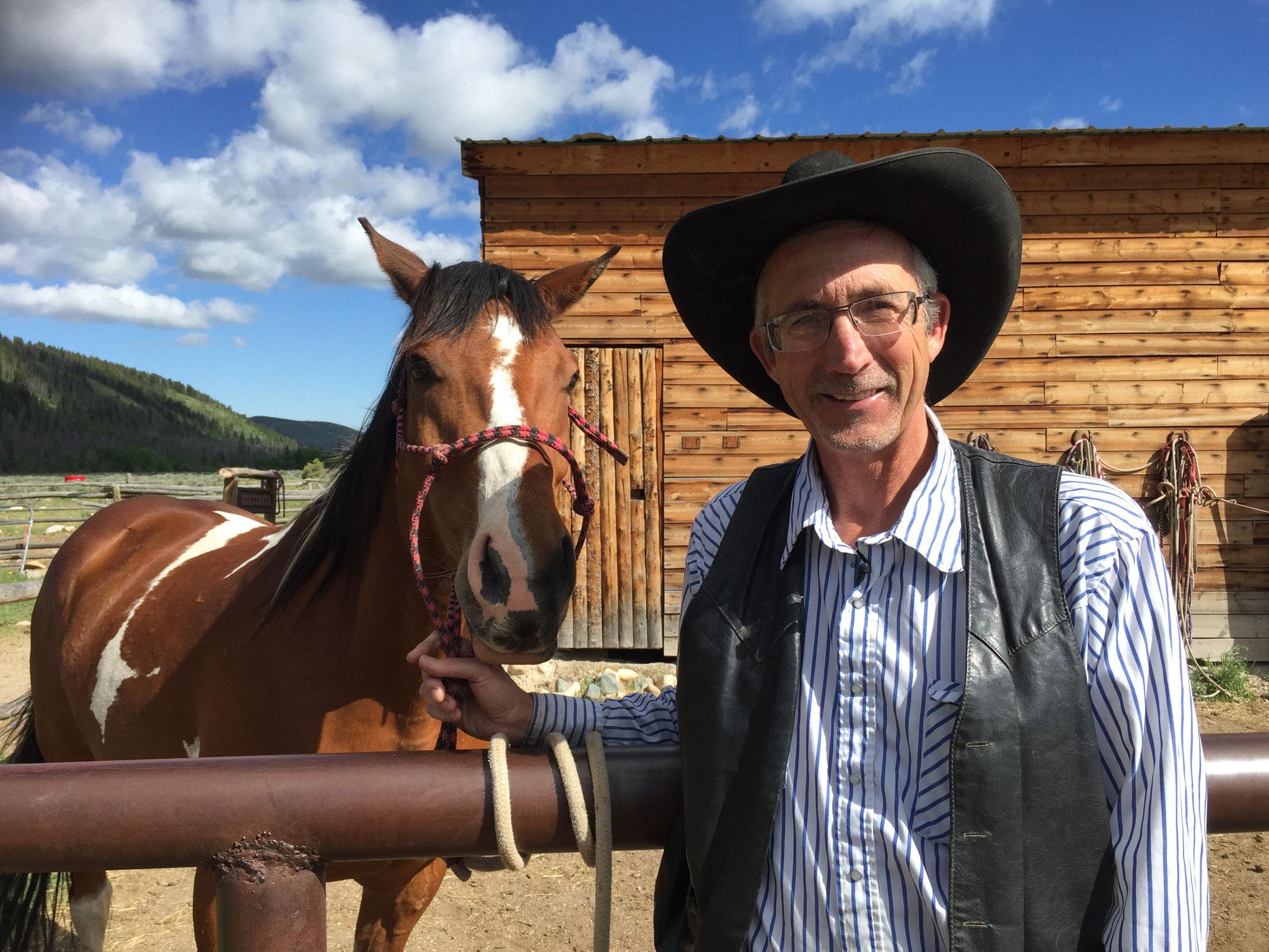 Mitglied der Schnauze voll-Partei: Tim Bishop aus Wyoming