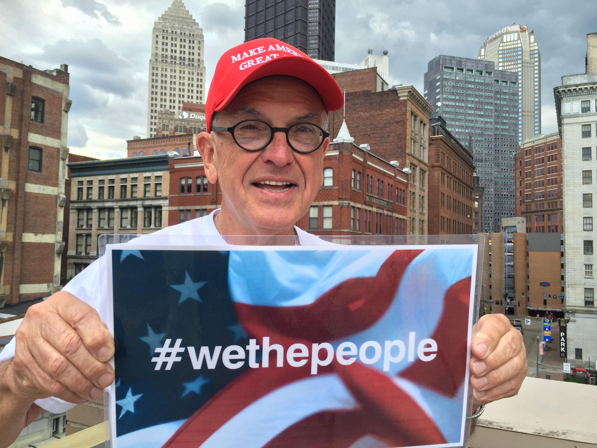 Vom Obama-Wähler zum aktiven Trump-Unterstützer: Rox Serrao aus Pittsburgh