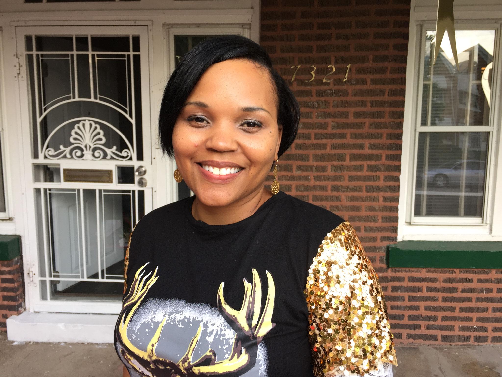Hat Angst vor einem rassistischen Präsidenten Trump: Tonja Hall aus Chicago