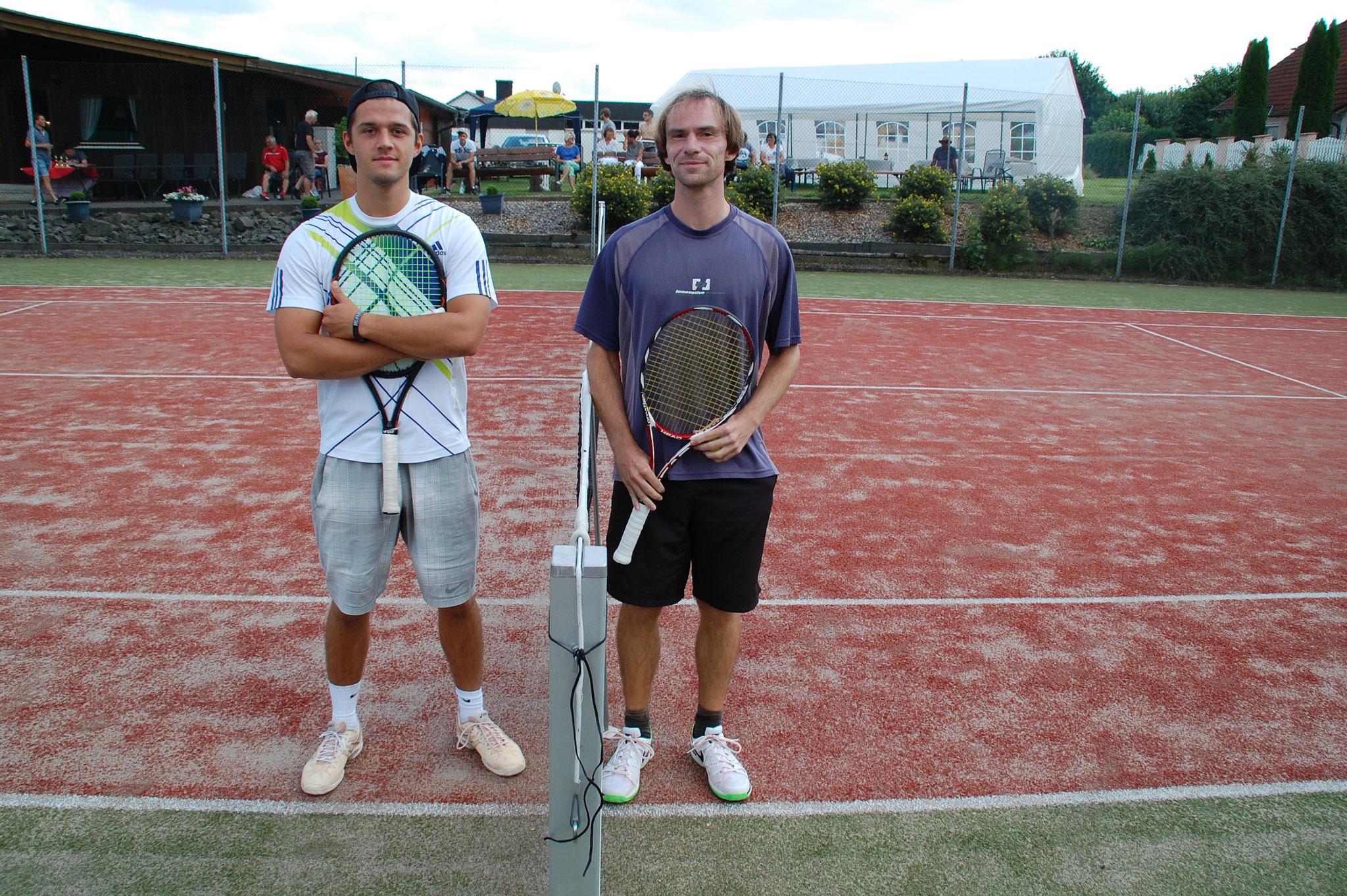 1. Halbfinale David Walter / Bastian Christ