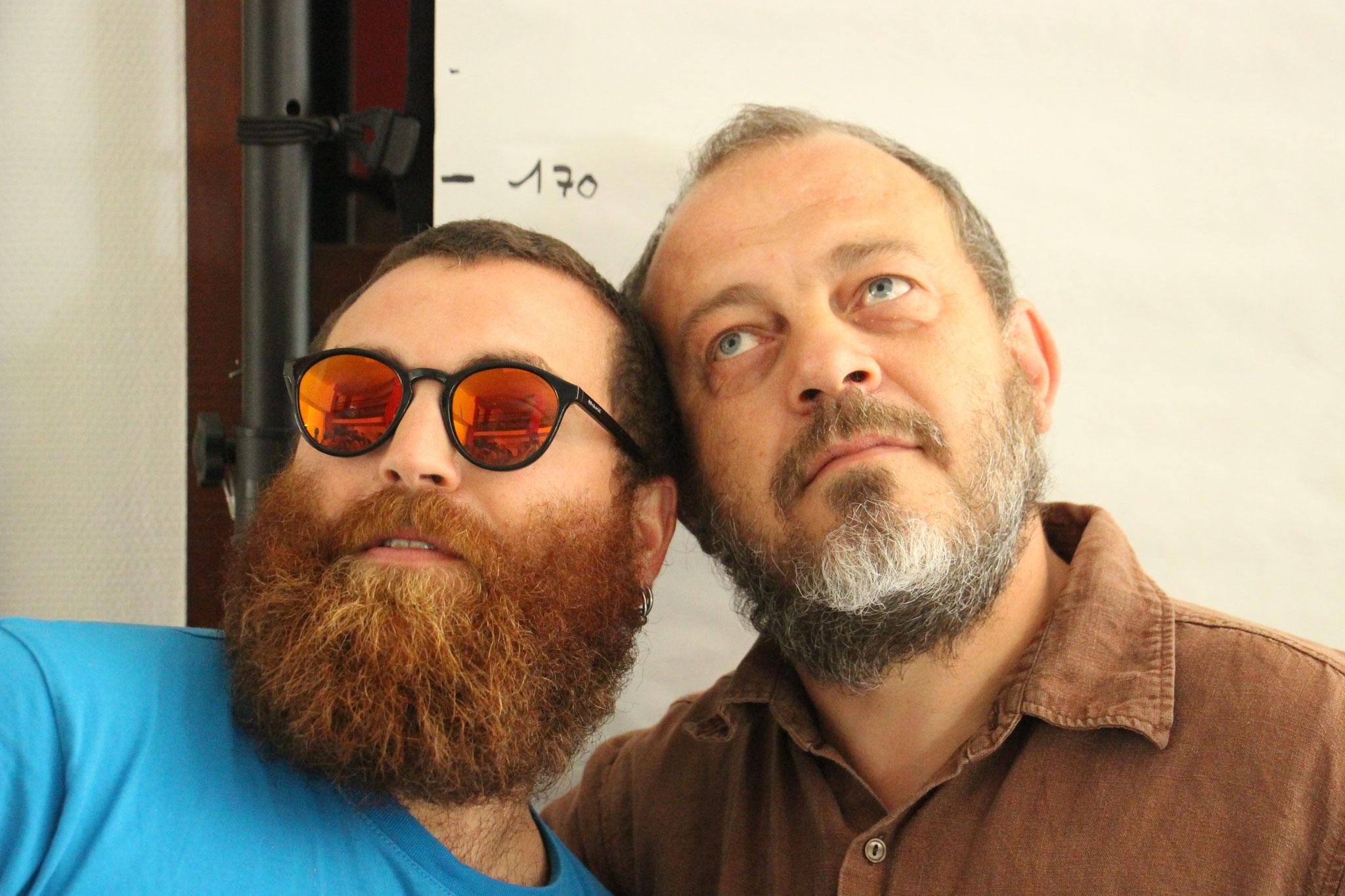 Julien Cartonnet et Stéphane Milleret