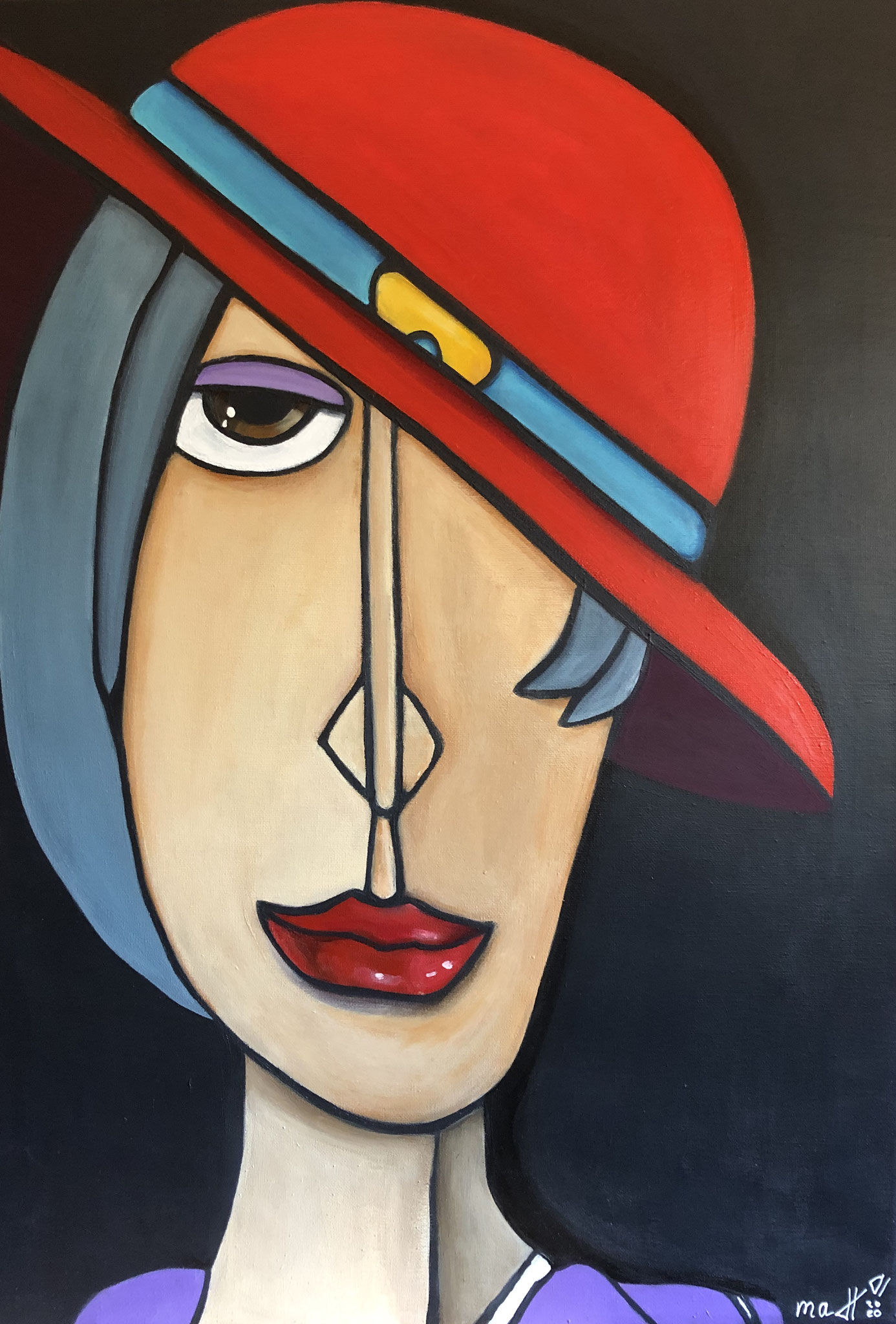 WOMAN WITH HAT I