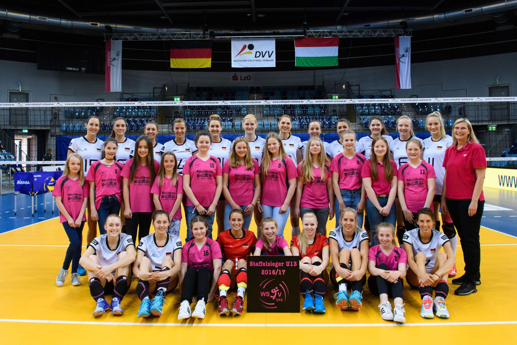 Unsere Jugend und das Nationalteam Mai 2017 Foto: Conny Kurth