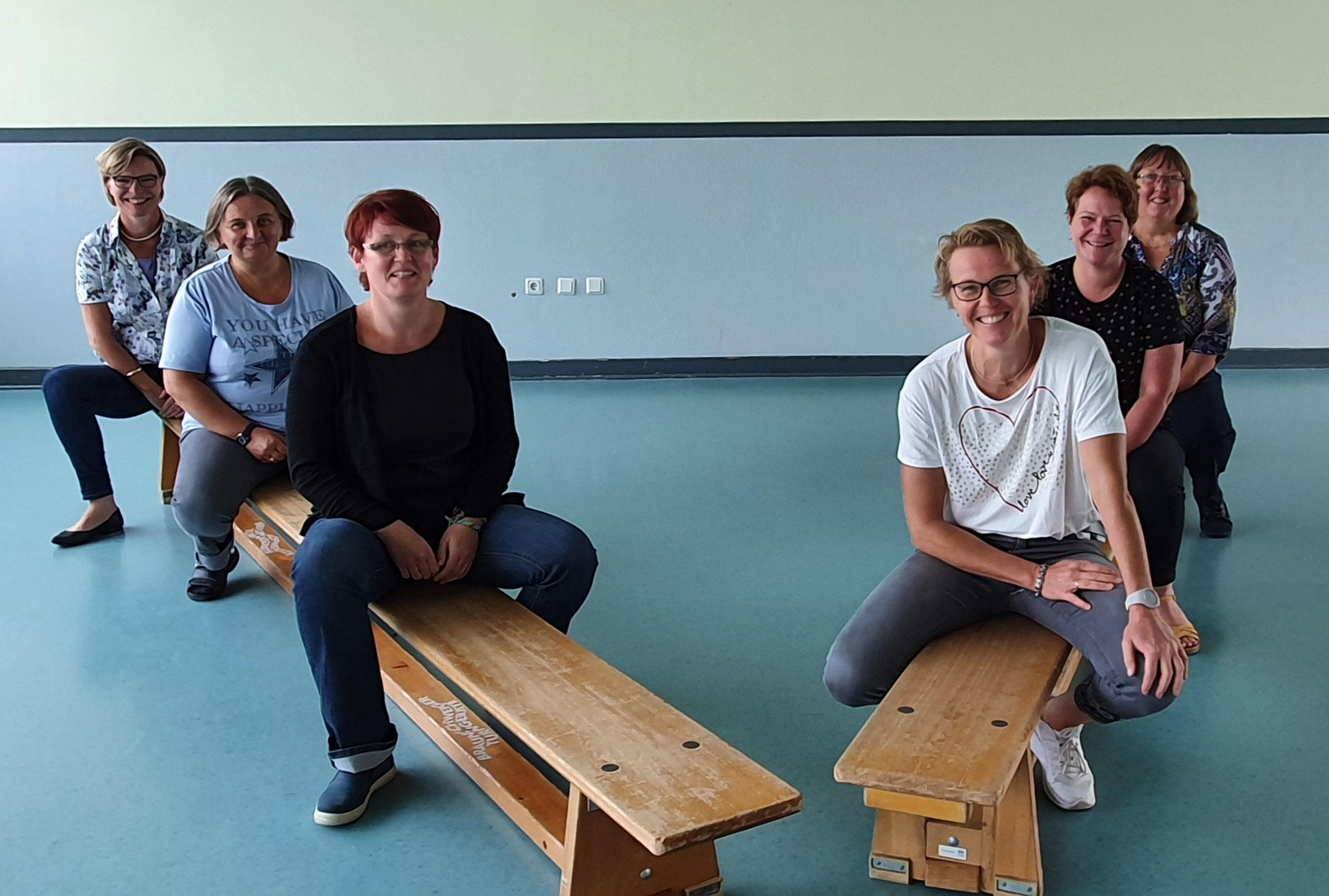 Pädagogische Mitarbeiter der Vormittagsbetreuung  (August 2020)