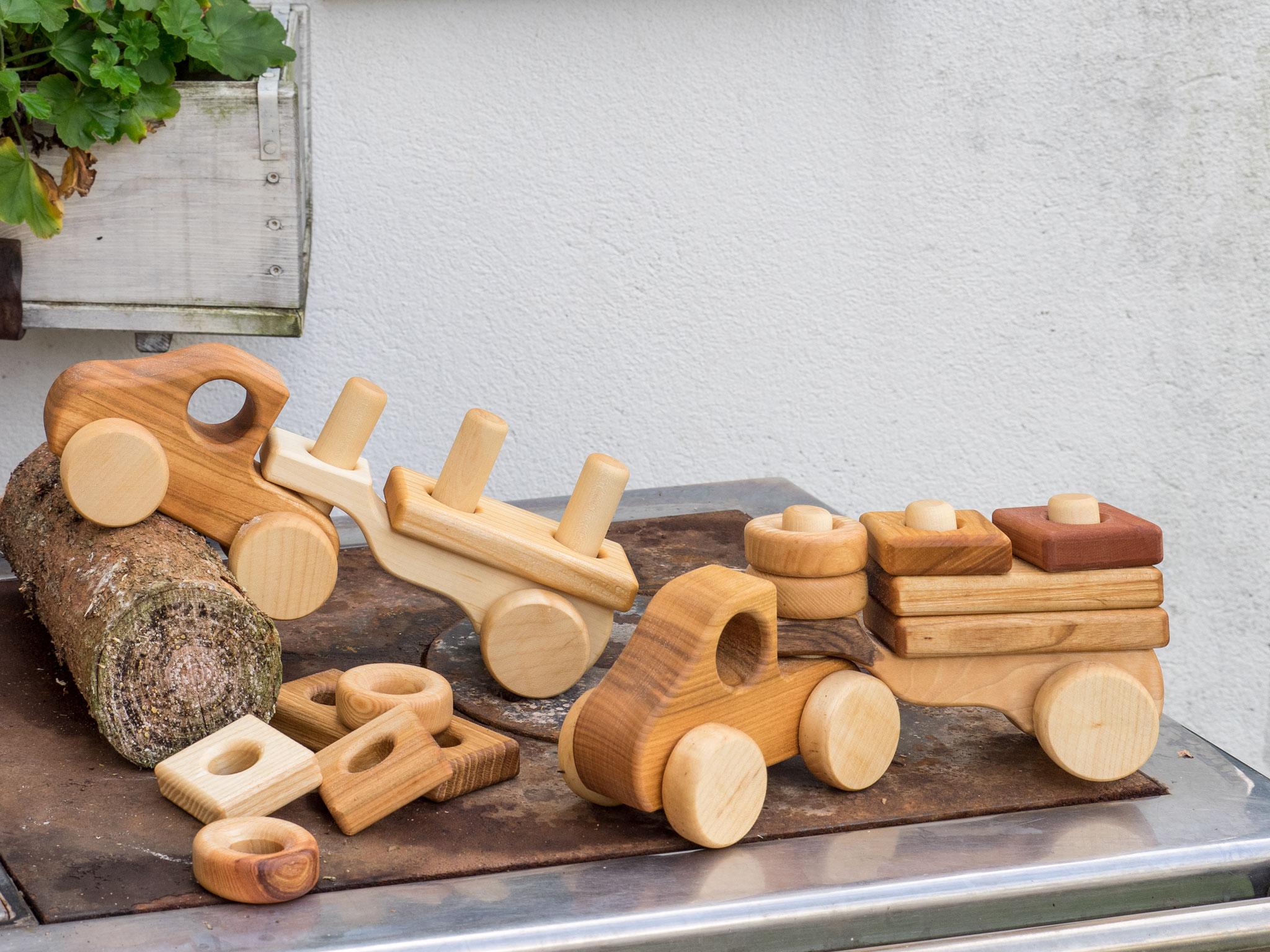 Spielzeug aus österreichischen Edelhölzer