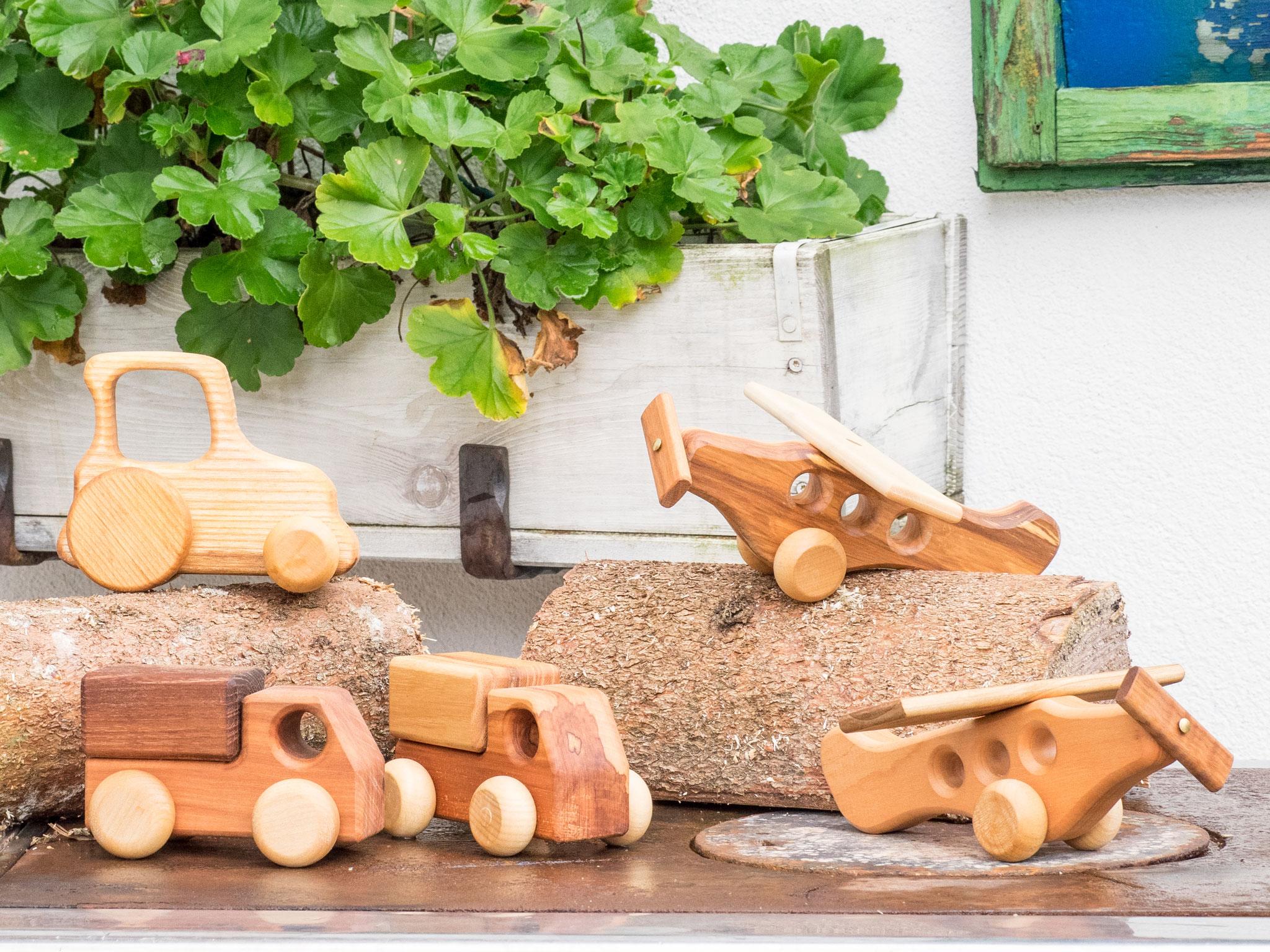 Spielzeug aus österreichischen Edelhölzer gefertigt