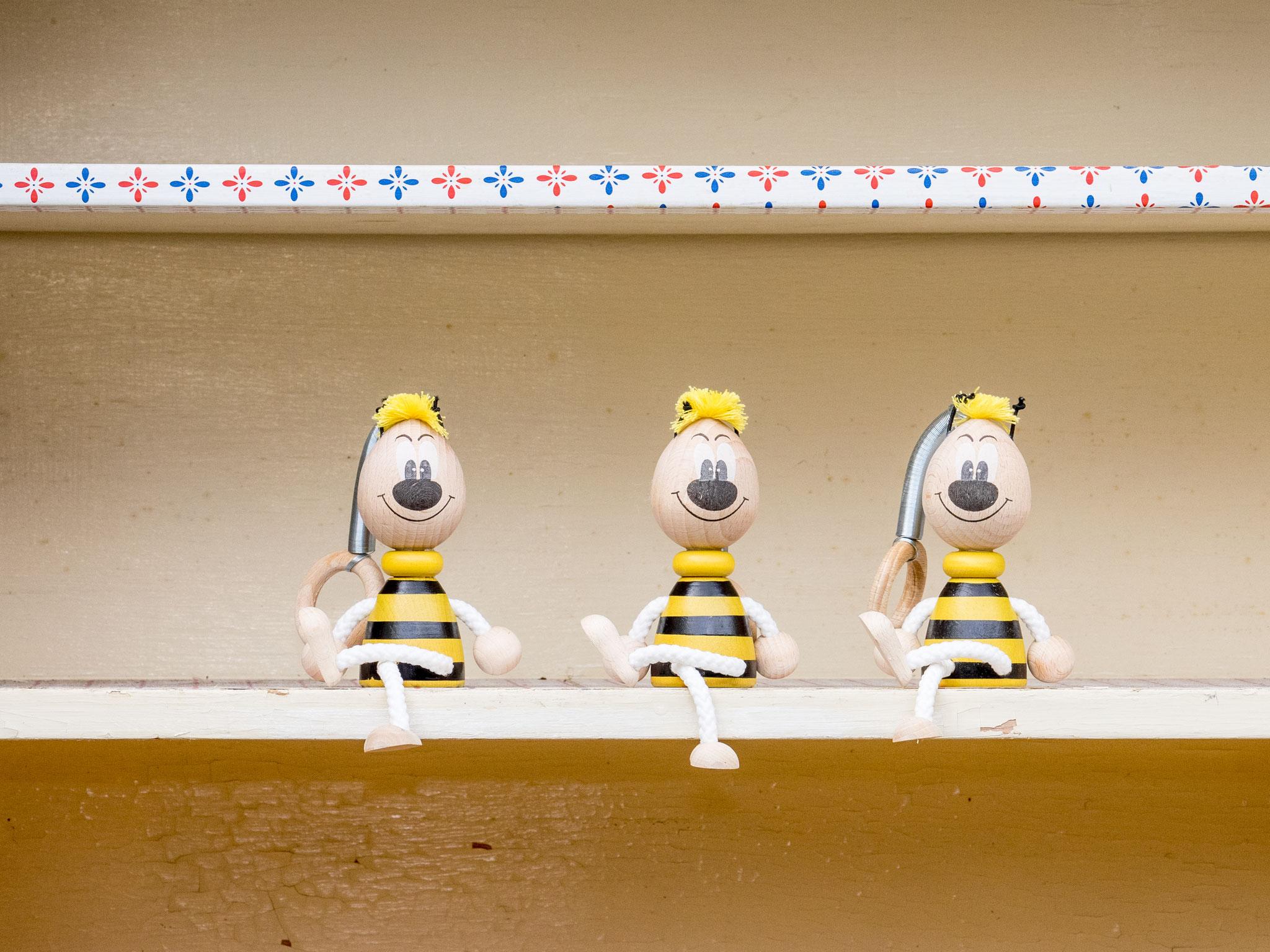 Federtier Biene/Willi