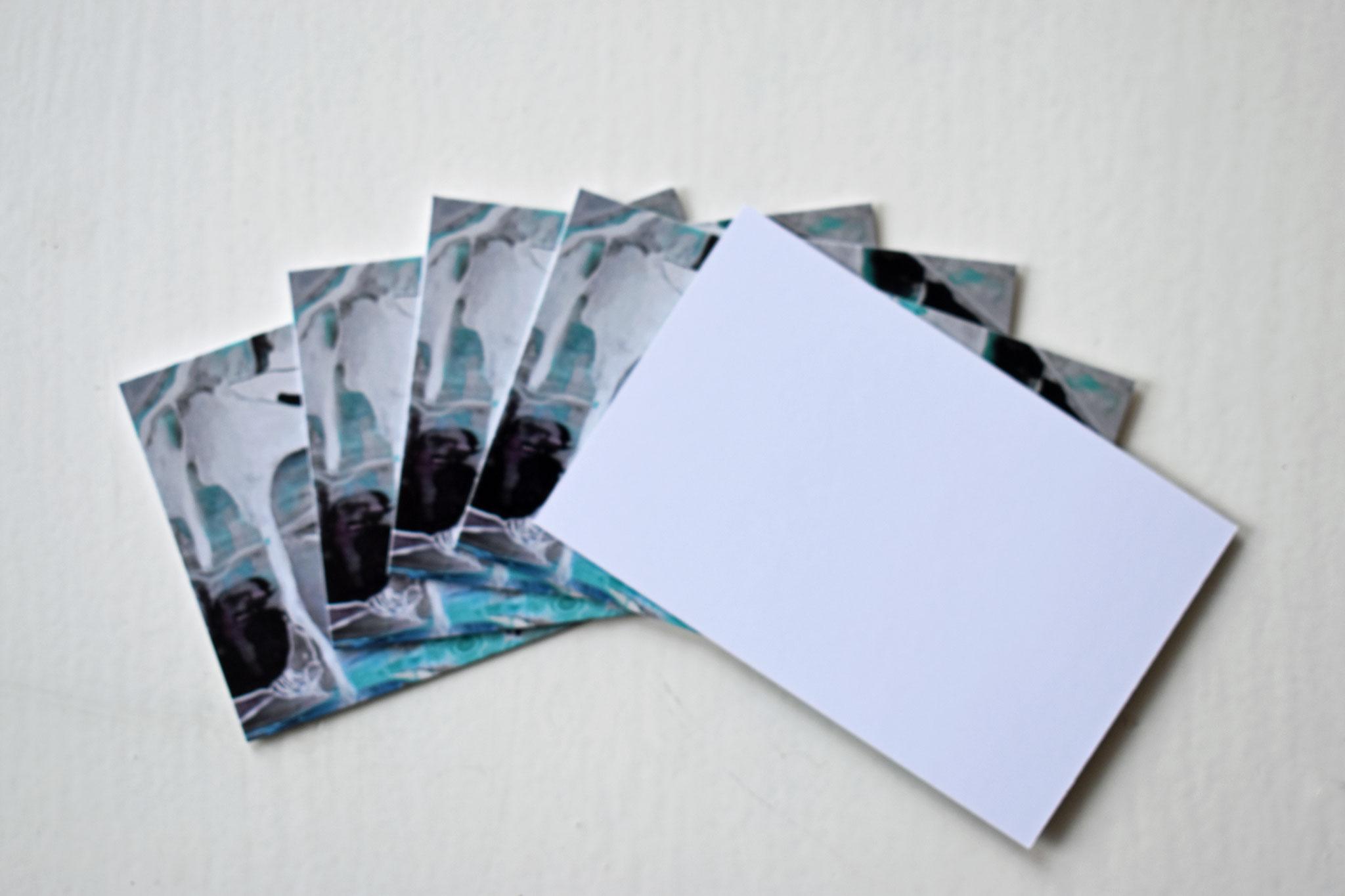 """""""Gletscherbulle"""" Geschenkkarten (5er Stk.), €6,90"""