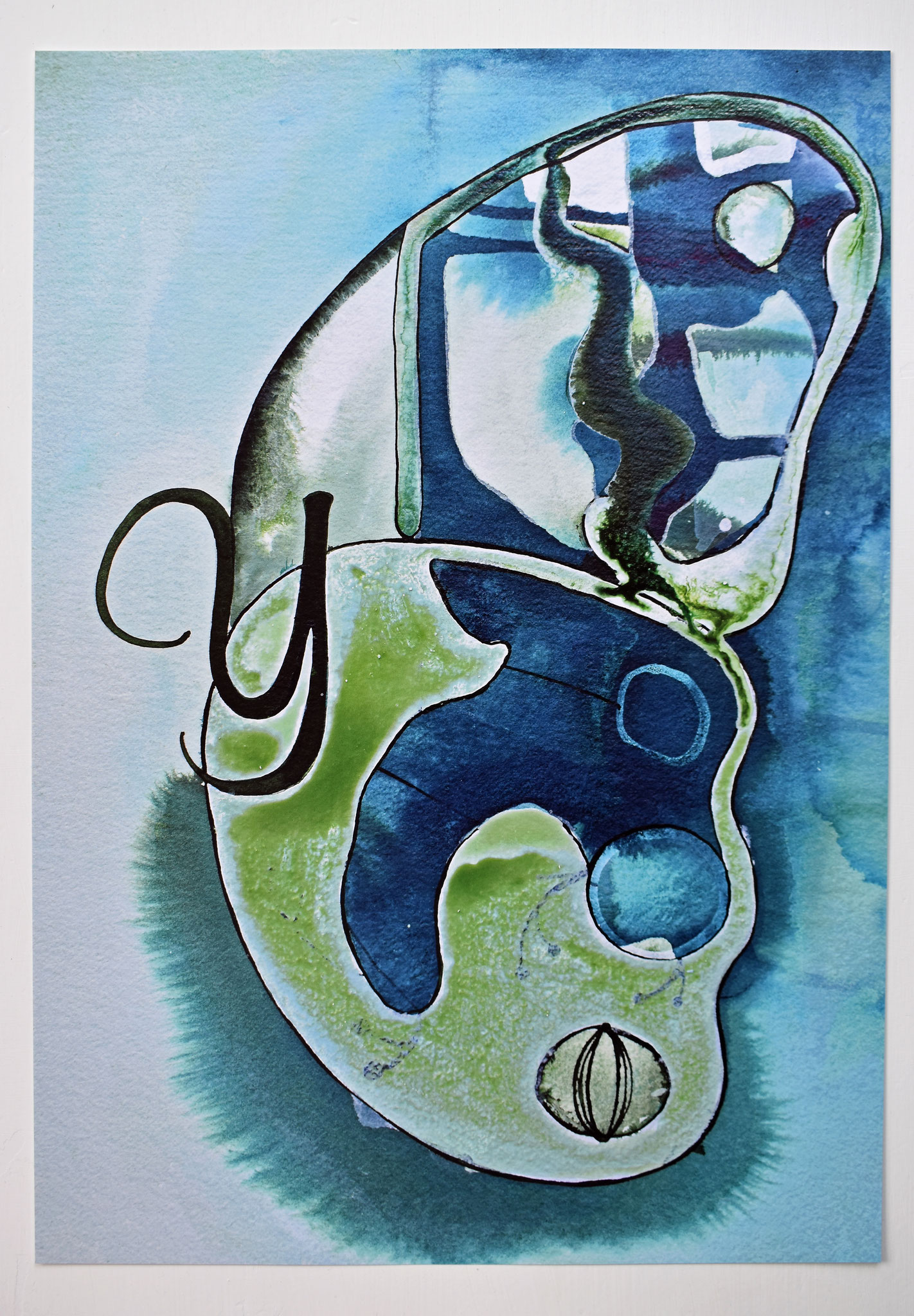 """Y"" Nursery Collection Print DIN A3, € 39.-"