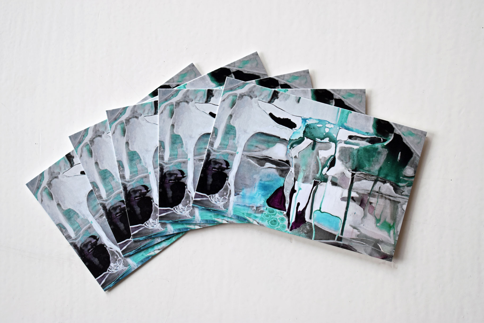 """Bull of the Glaciers"" gift tags (set of 5) €6,90"
