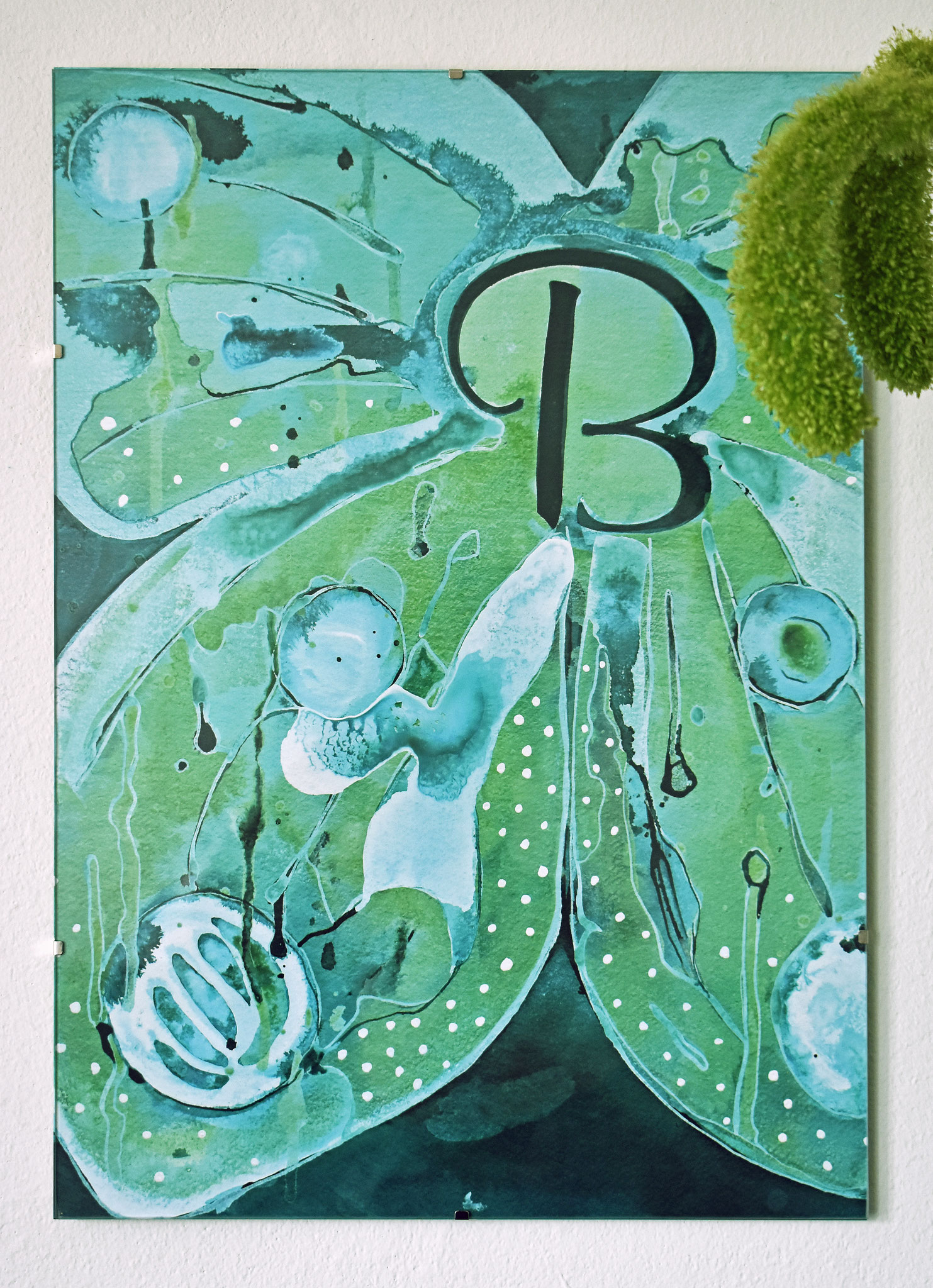 """B"" Nursery Collection Print DIN A3, € 39.-"